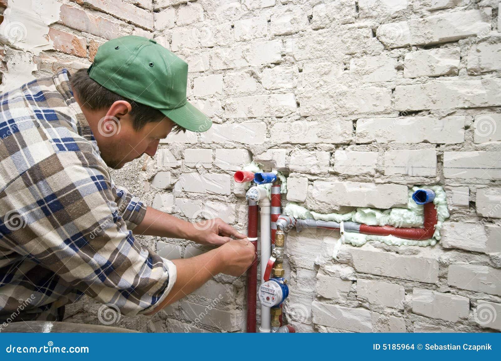 Nieuw loodgieterswerk