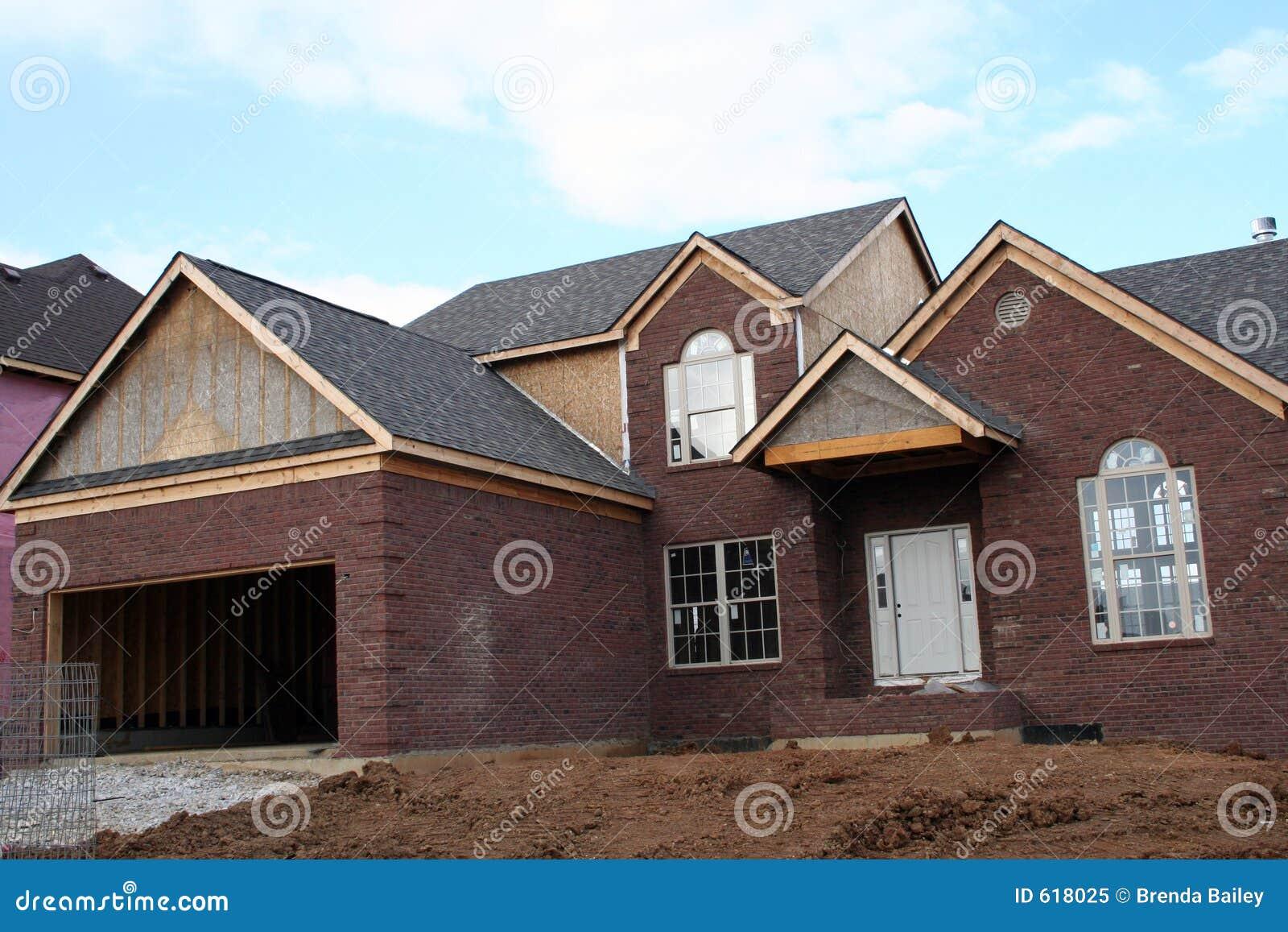 Nieuw lopend huis