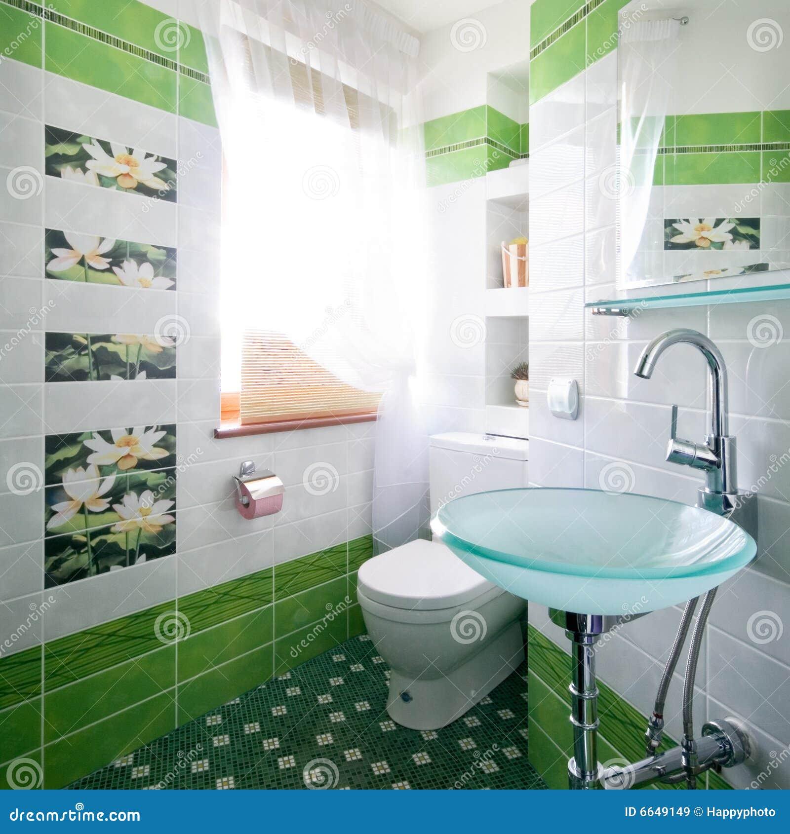 Nieuw ontwerp van toiletruimte royalty vrije stock afbeeldingen afbeelding 6649149 - Kleur modern toilet ...