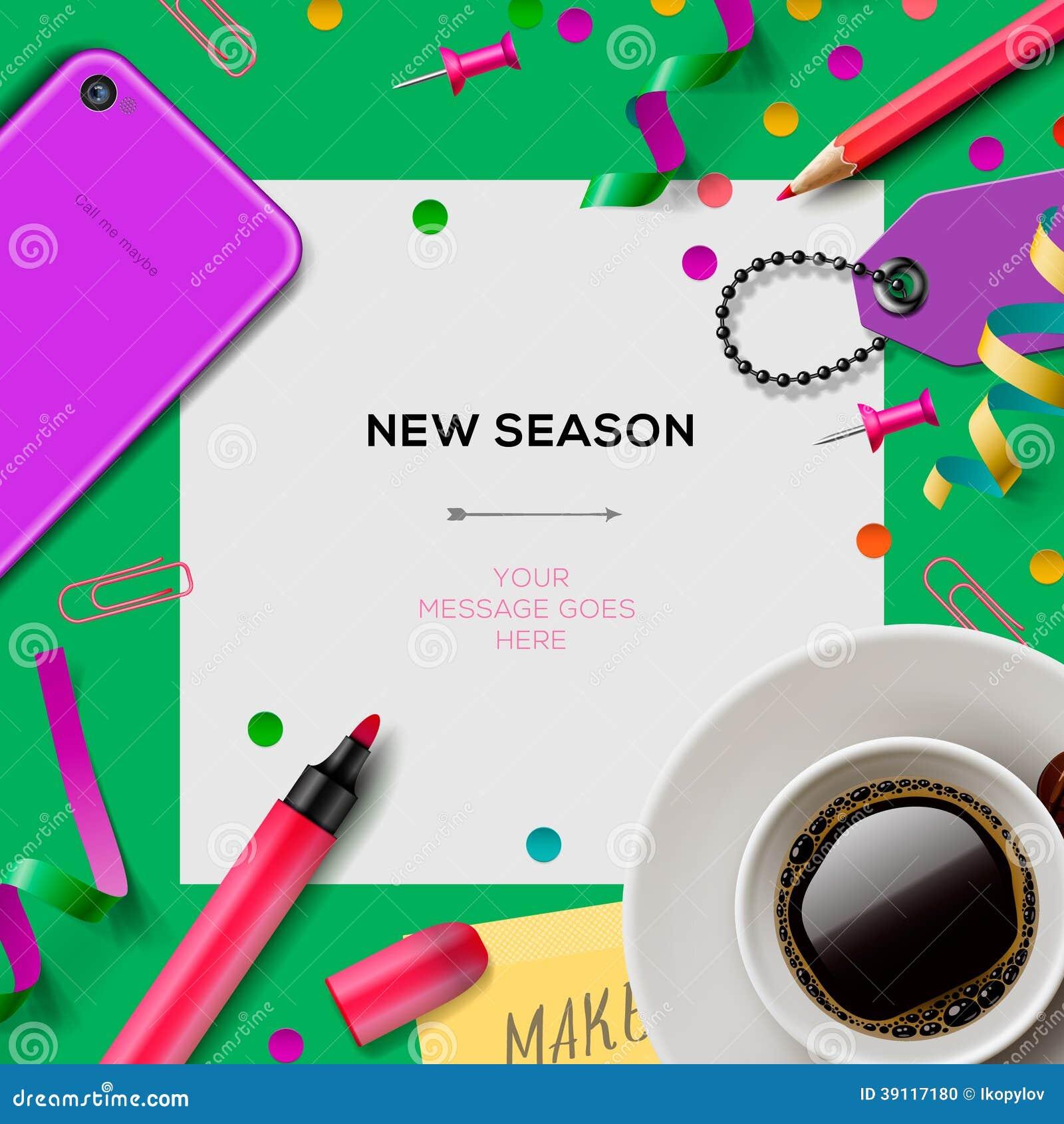 Nieuw seizoenmalplaatje met bureaulevering