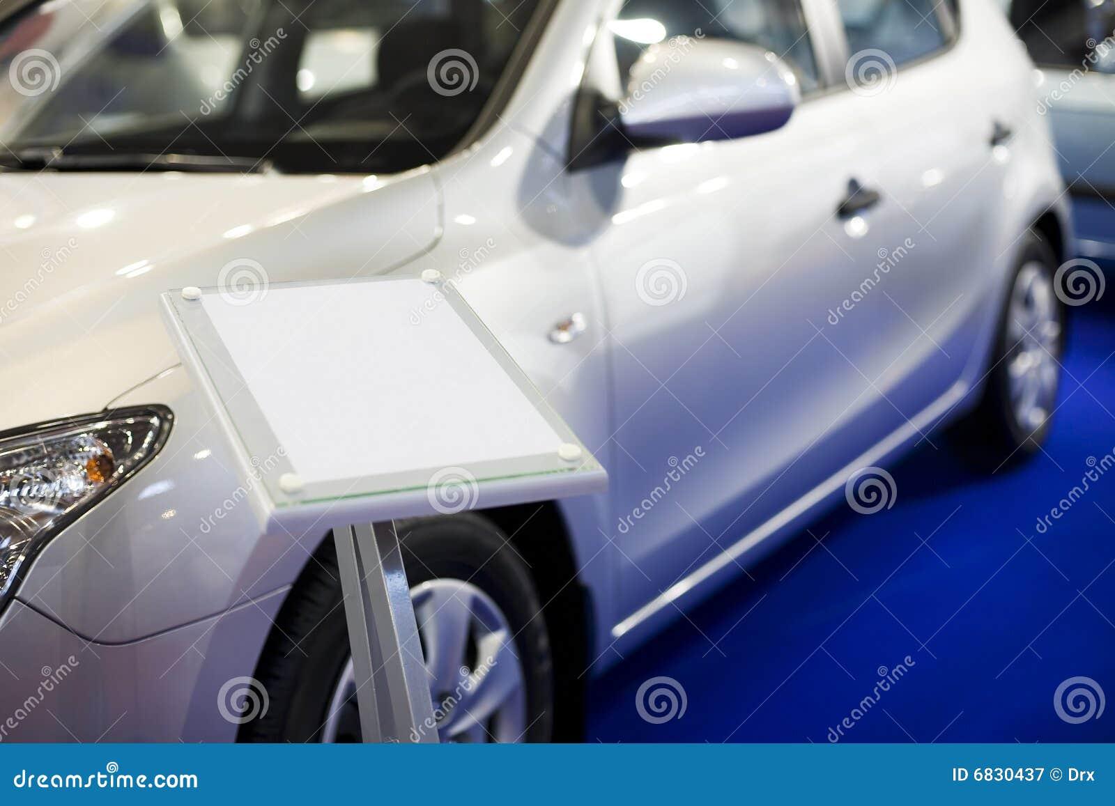 Nieuwe auto op verkoop