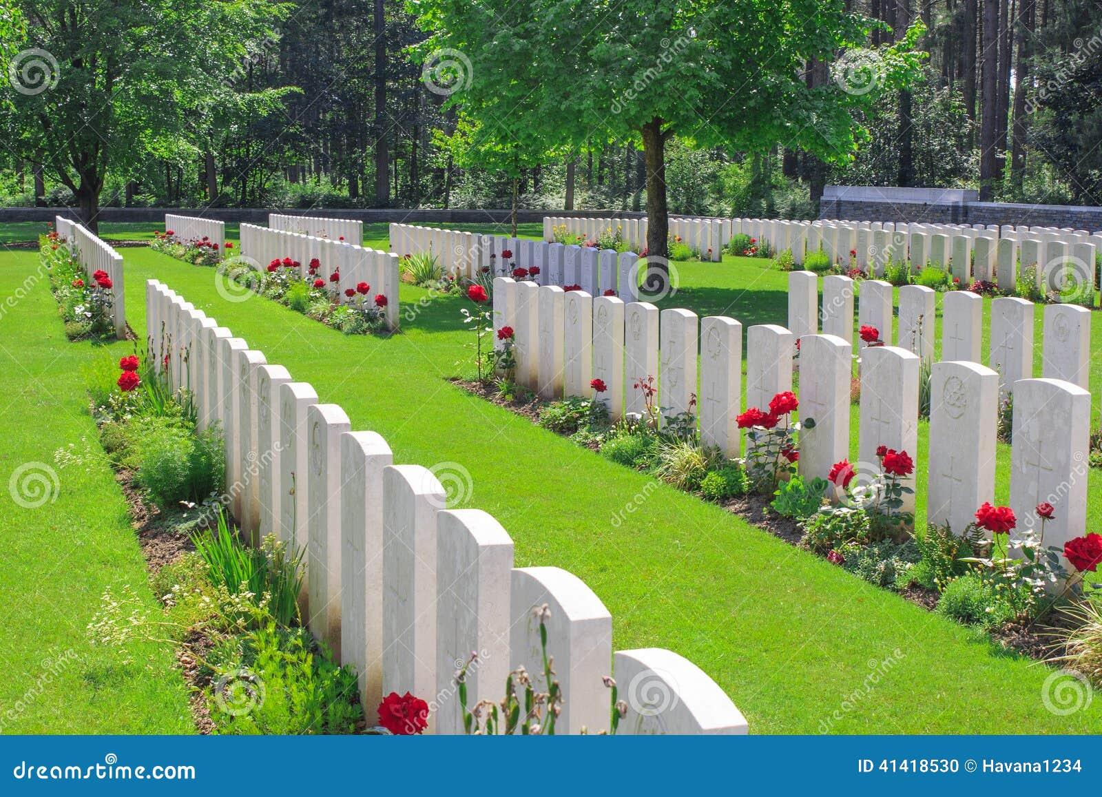 Nieuwe Britse Begraafplaatswereldoorlog 1 de gebieden van Vlaanderen