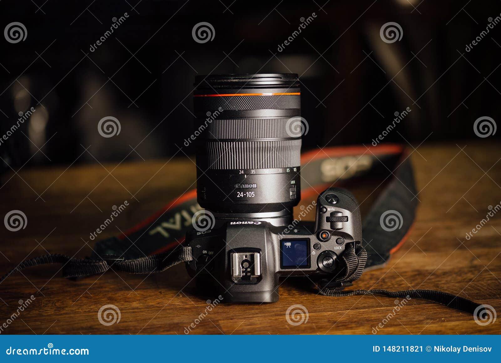 Nieuwe camera Canon EOS R 30 1 mirrorless verwisselbaar-lens van het megapixel volledig-kader op de lijst