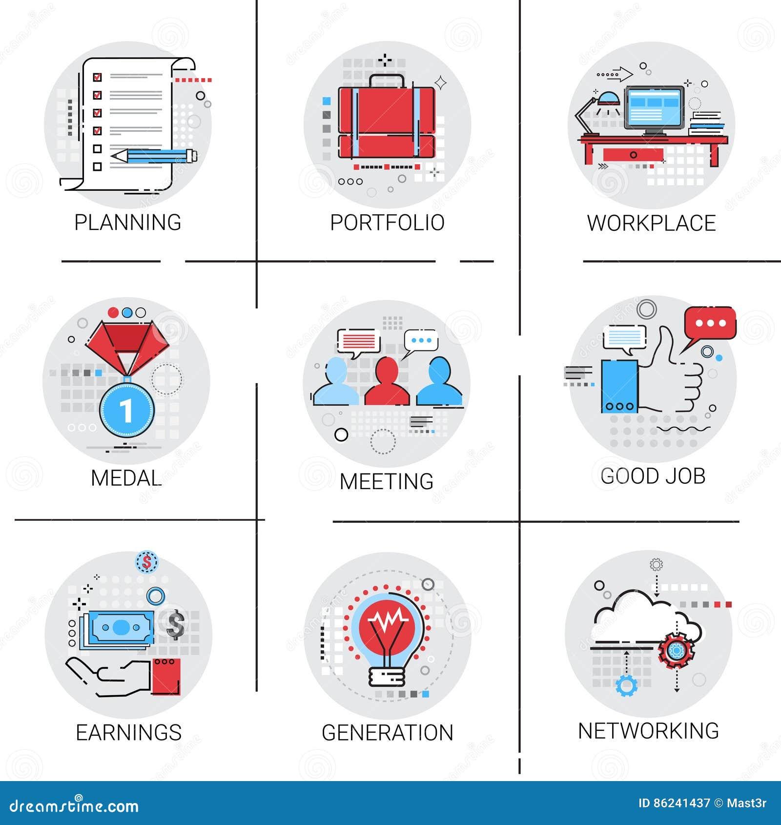 Nieuwe de Gloeilampen van de van de Bedrijfs ideegeneratie de Samenwerking van het Pictogram Vastgestelde Inkomens Werkplaatsverg