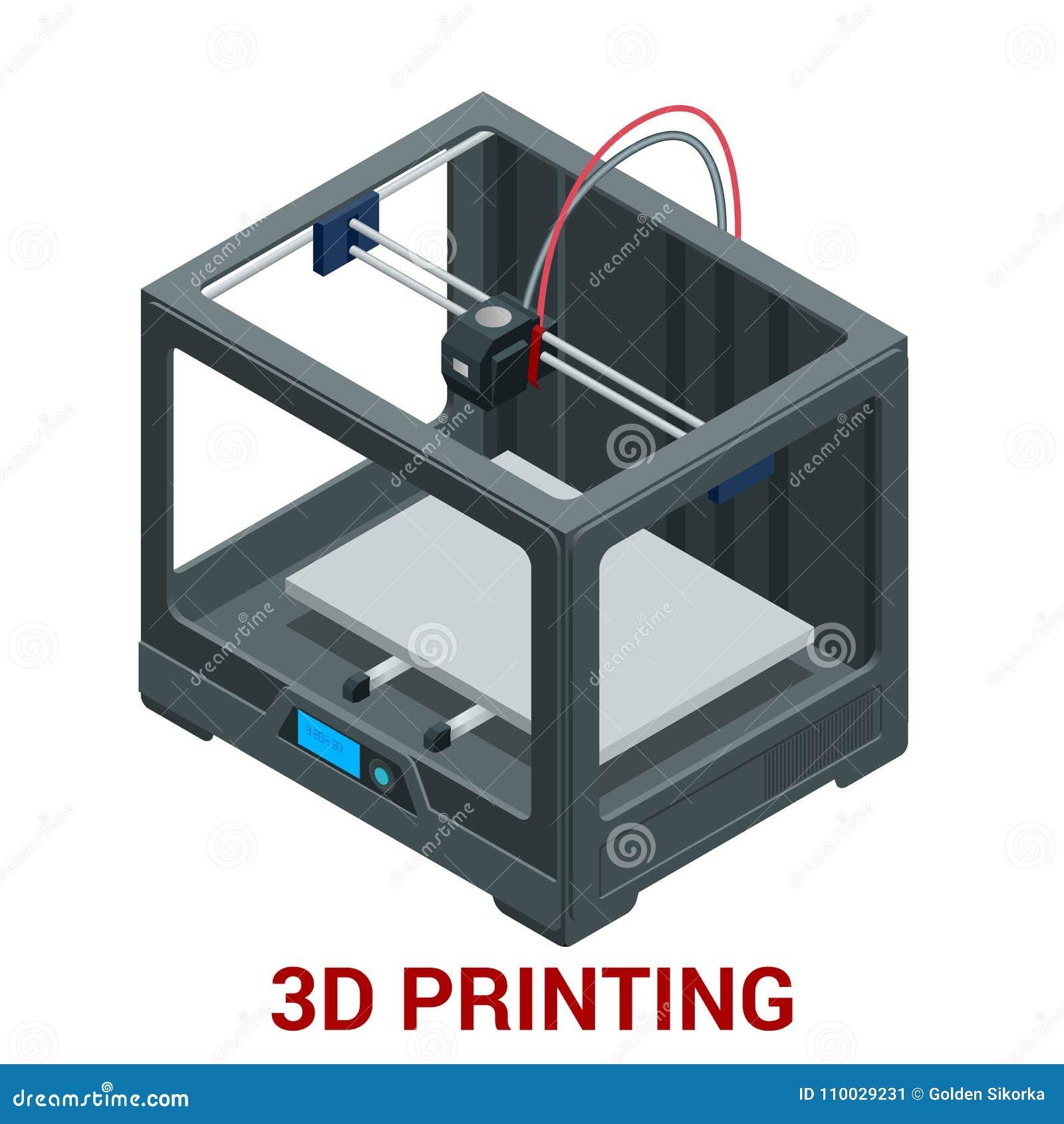 Nieuwe generatie van 3D Drukmachine die een model van plastiek drukken