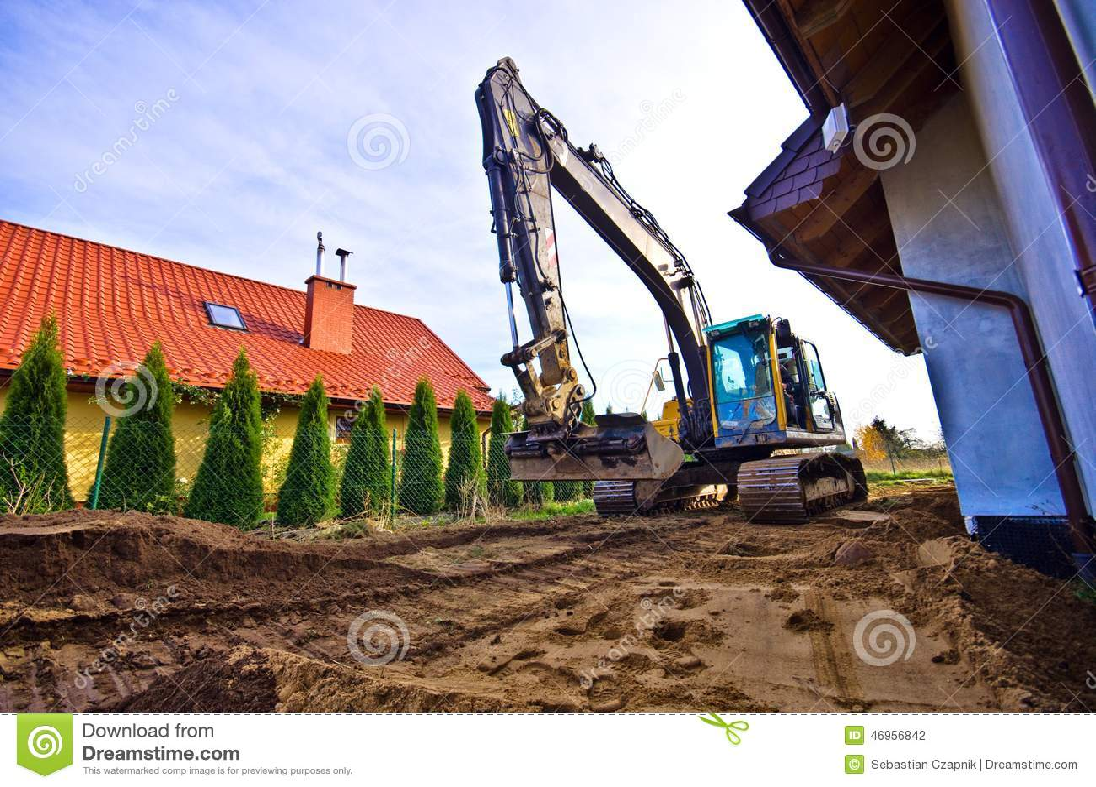 Nieuwe grond voor huistuin