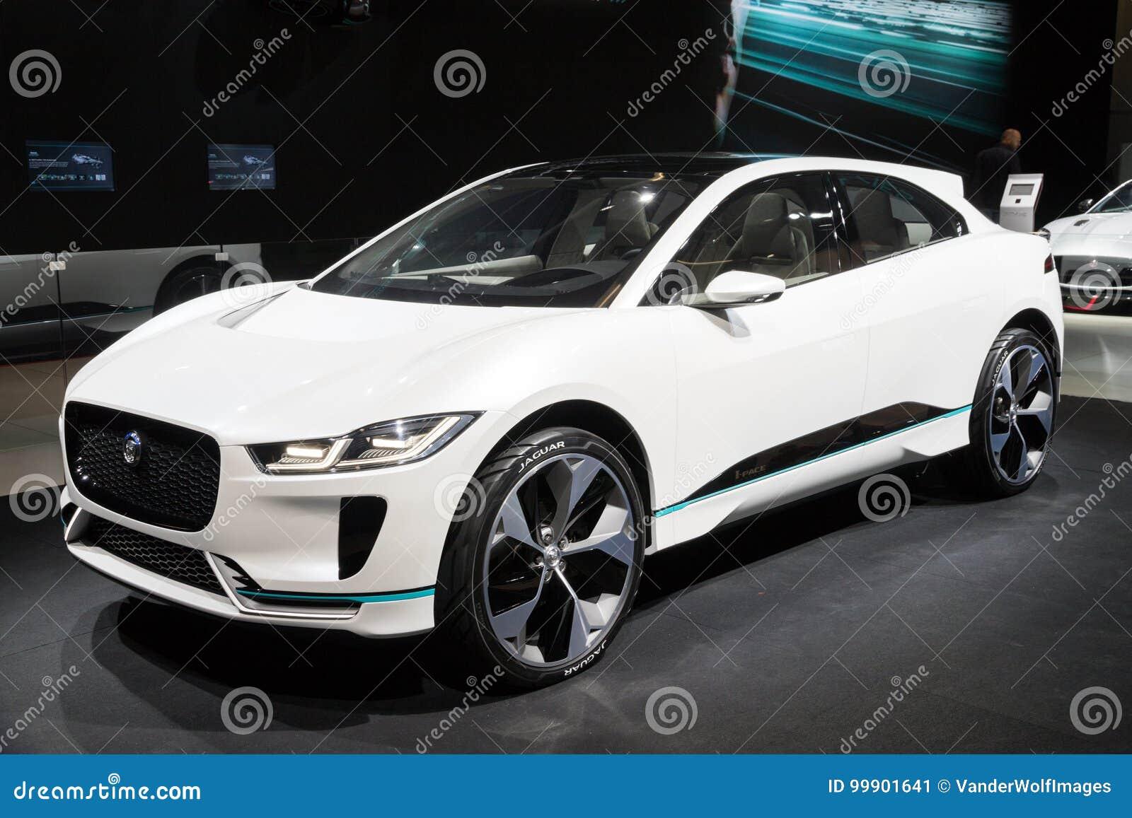 Nieuwe Het I Tempo Van Jaguar Van 2018 Elektrische Suv Auto