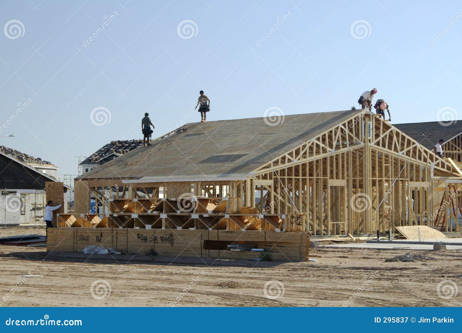 Nieuwe huisbouw