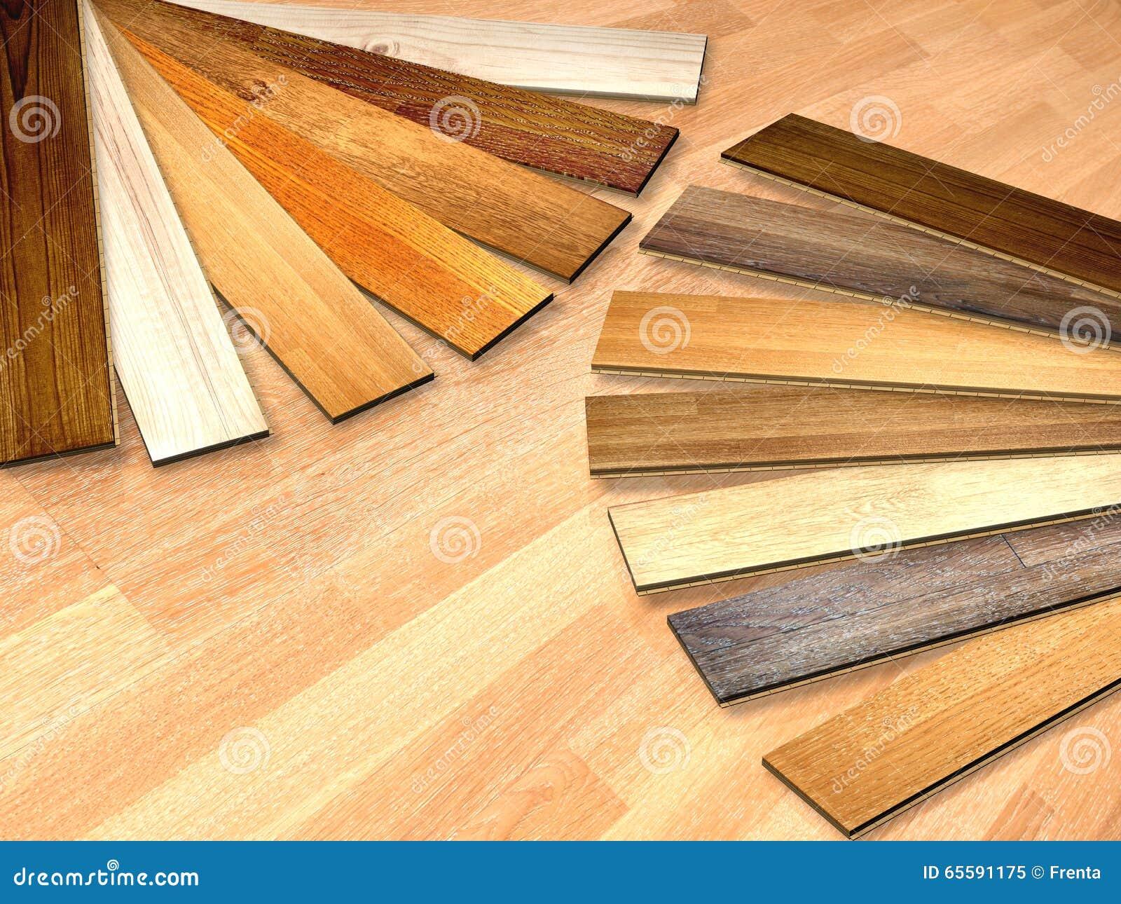 Nieuwe planken van eiken parket stock illustratie illustratie