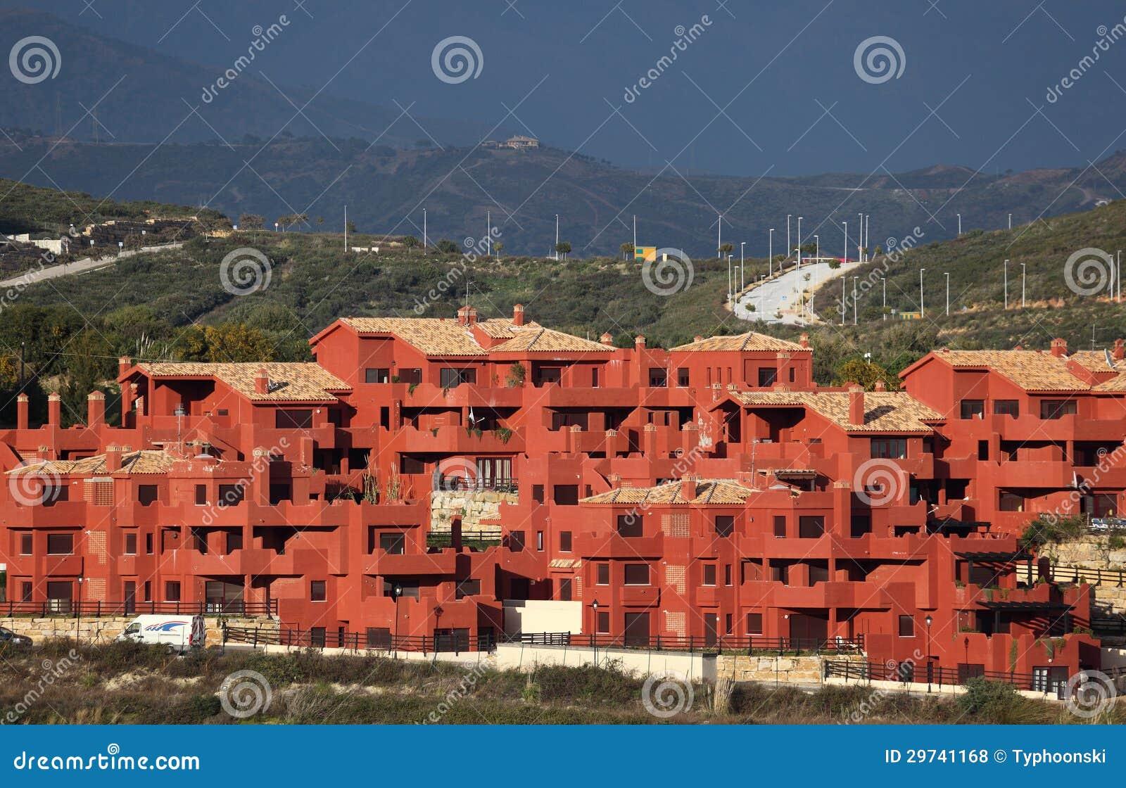 Urbanisatie in Andalusia, Spanje