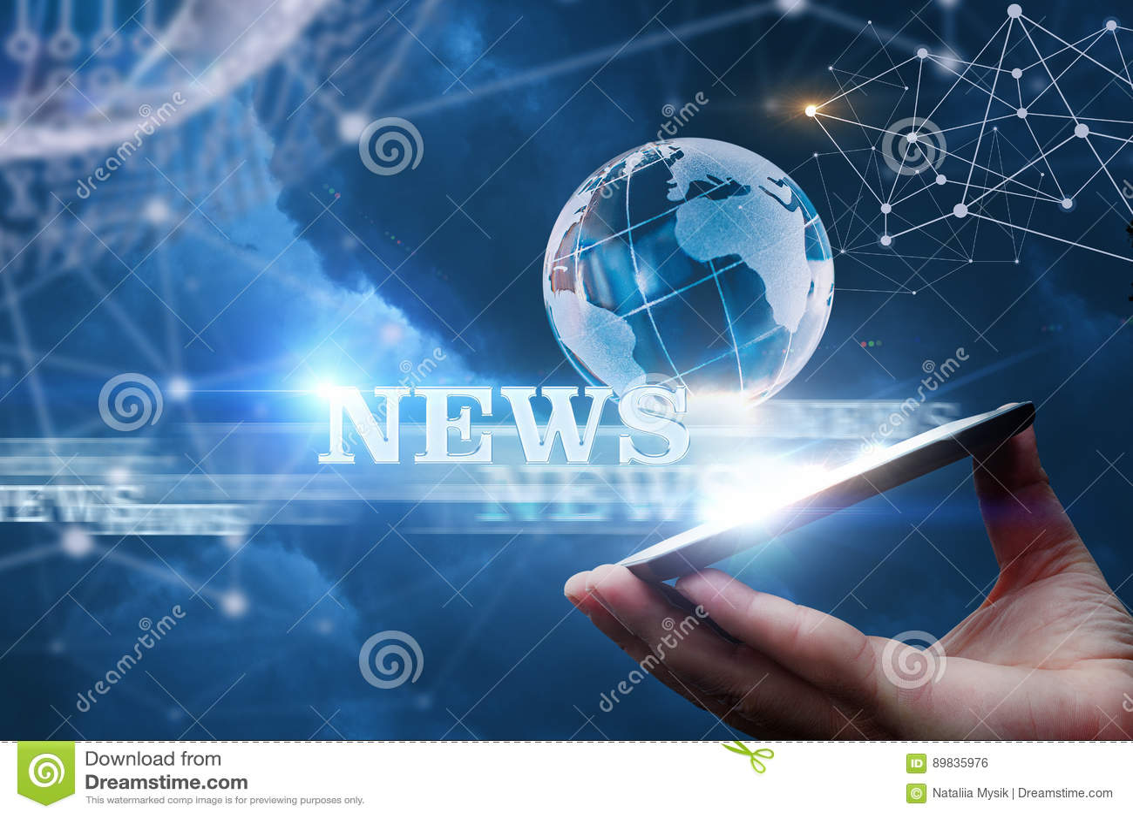 Nieuws van het netwerk van