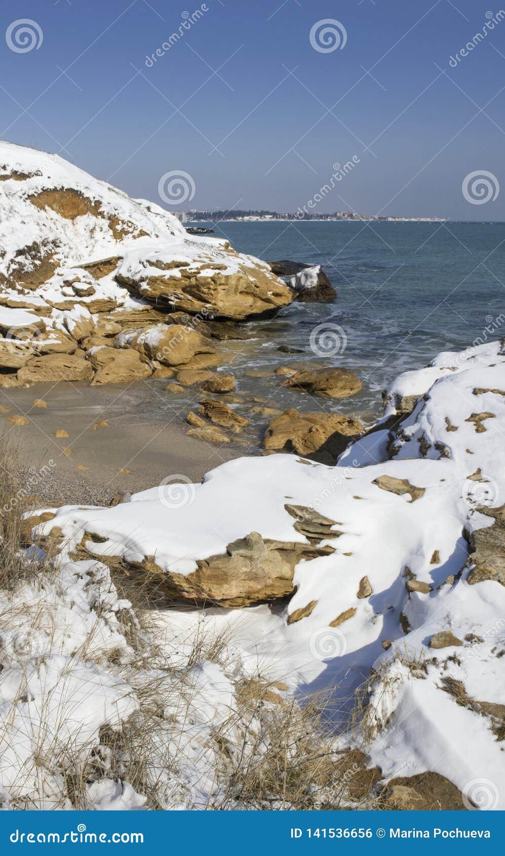 Nieve en el mar