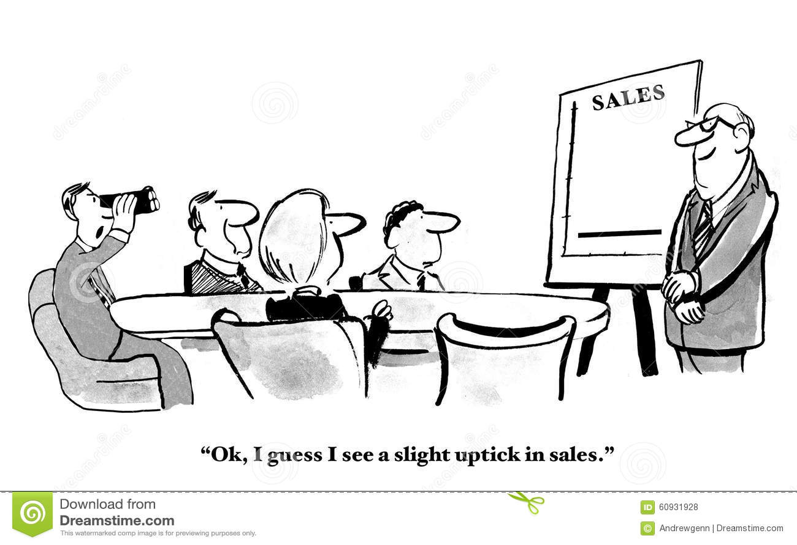 Niewielki wzrost w sprzedażach
