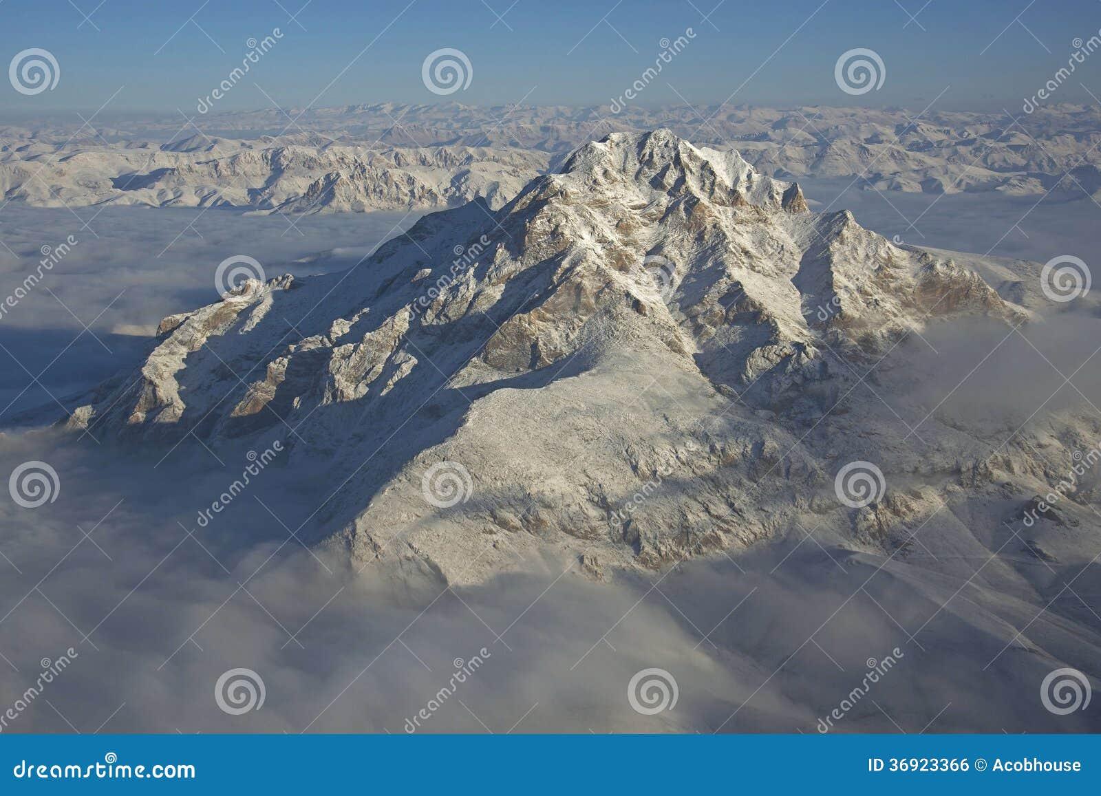 Niewygładzona Afganistan góra
