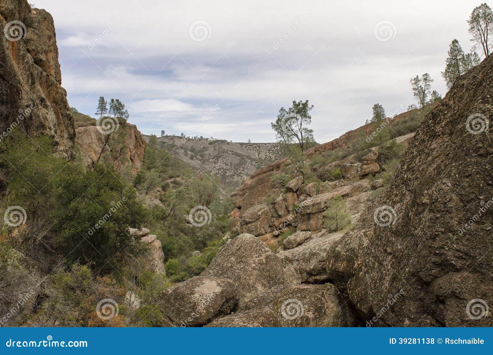Niewygładzony Zachodni góra krajobraz