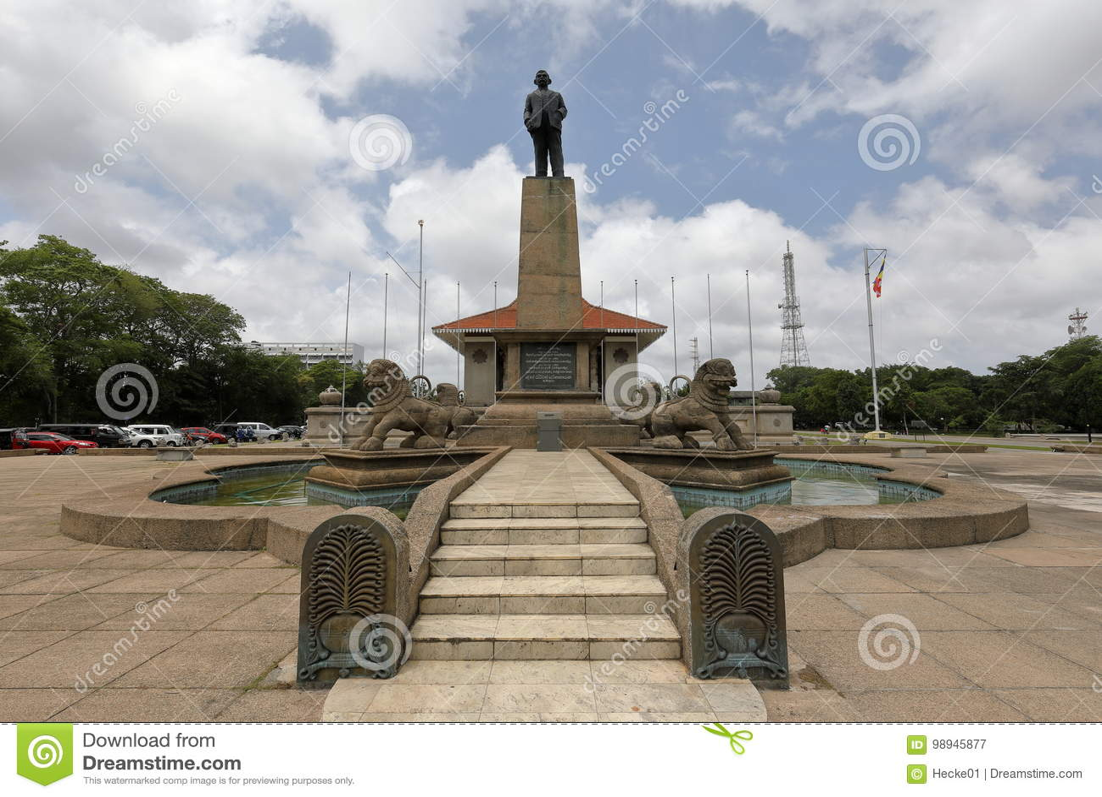 Niezależność Hall Kolombo w Sri Lanka