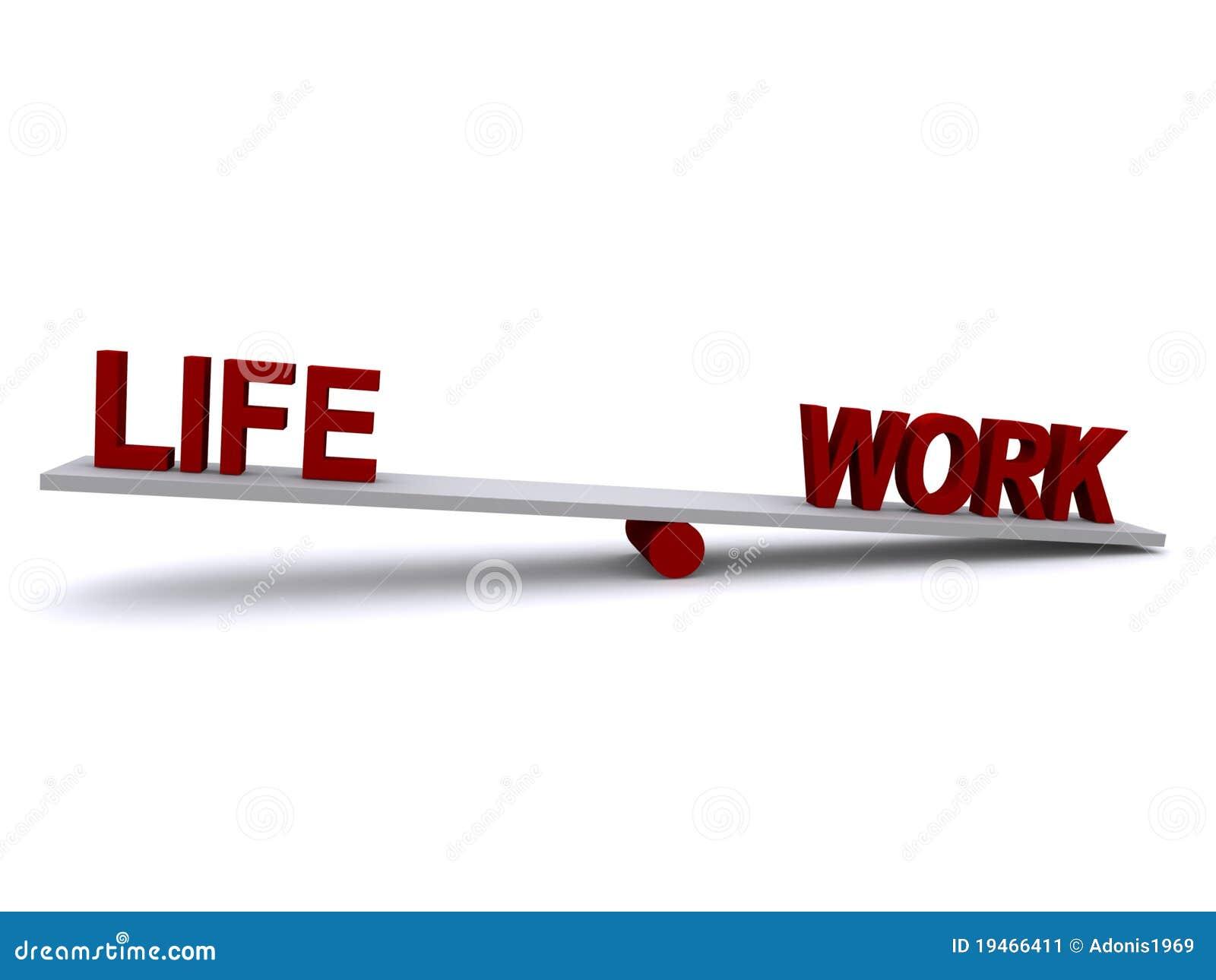 Niezrównoważenia życia praca