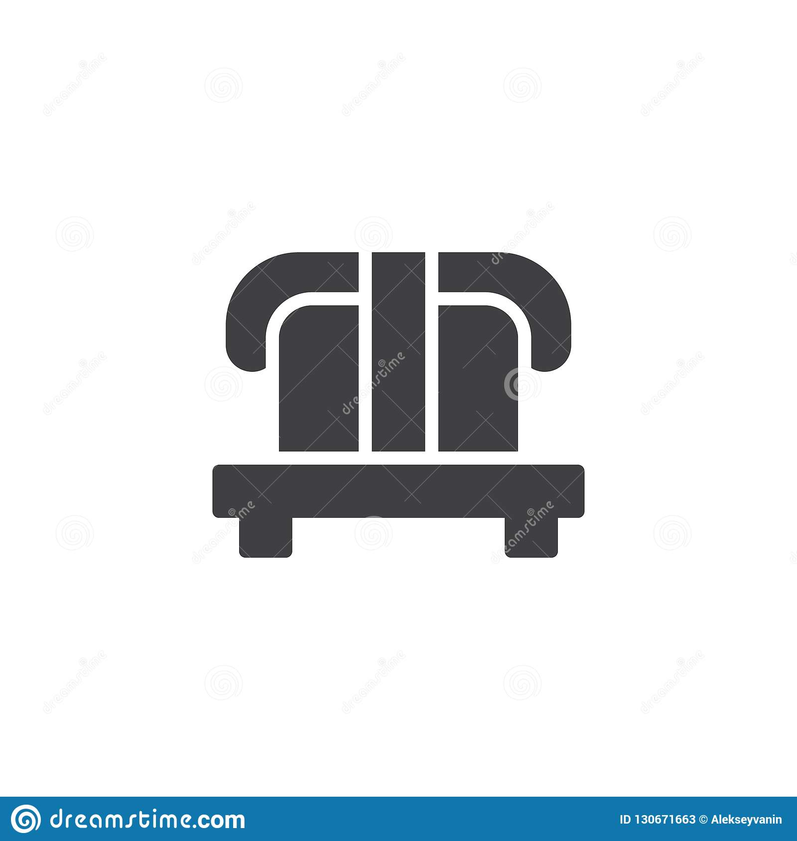 Nigari sushi roll vector icon