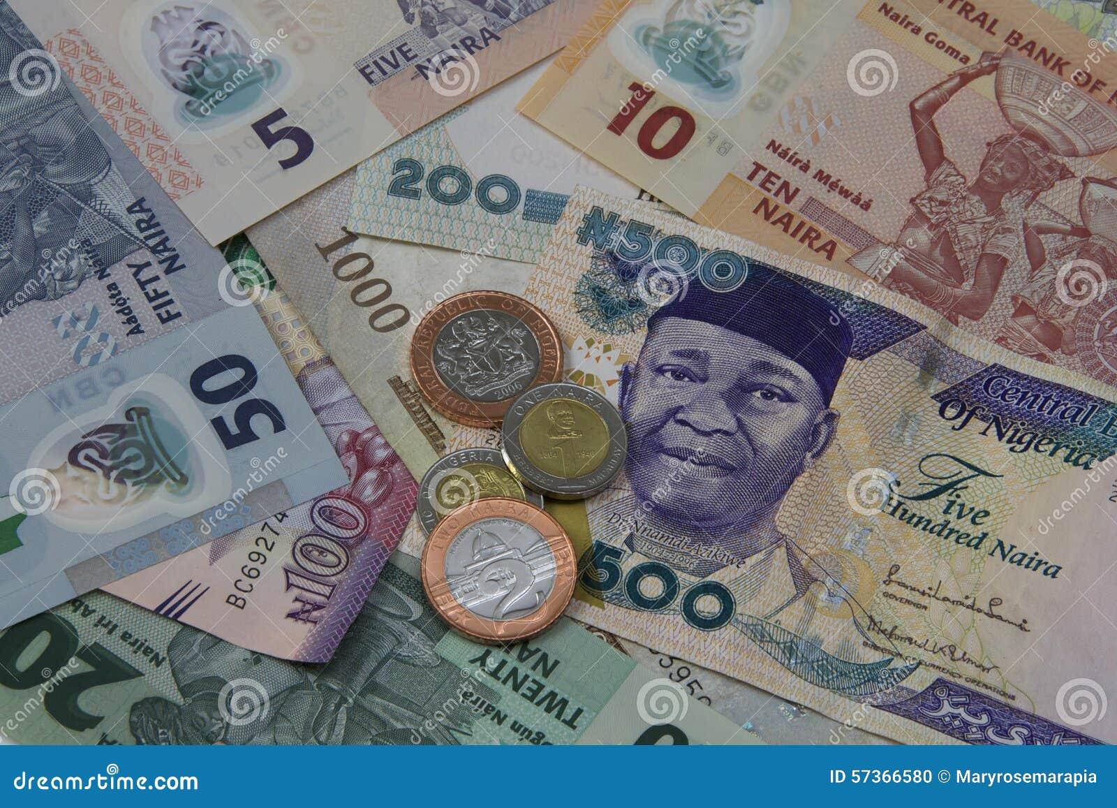 Nigeryjski pieniądze