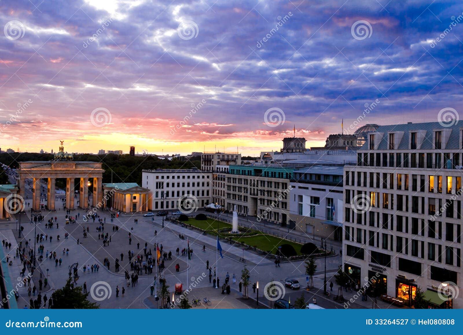 Berlin - Brandenburger Gate at night