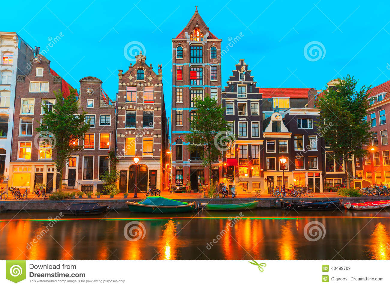 Amsterdam city and canal editorial image cartoondealer for Herengracht amsterdam