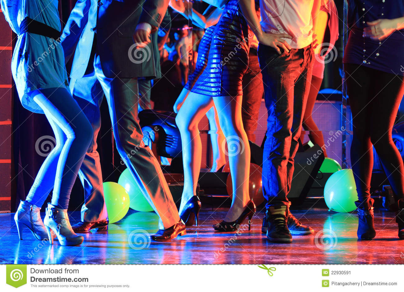 night club party stock image   image 22930591