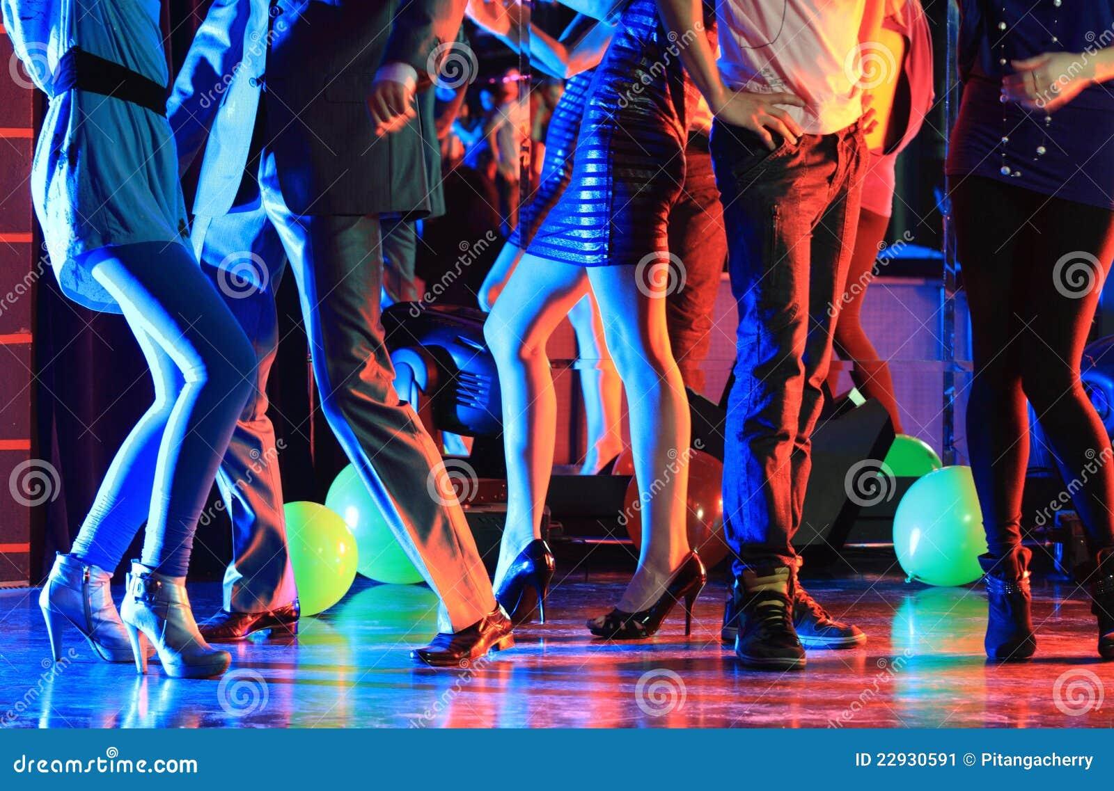 Night club party