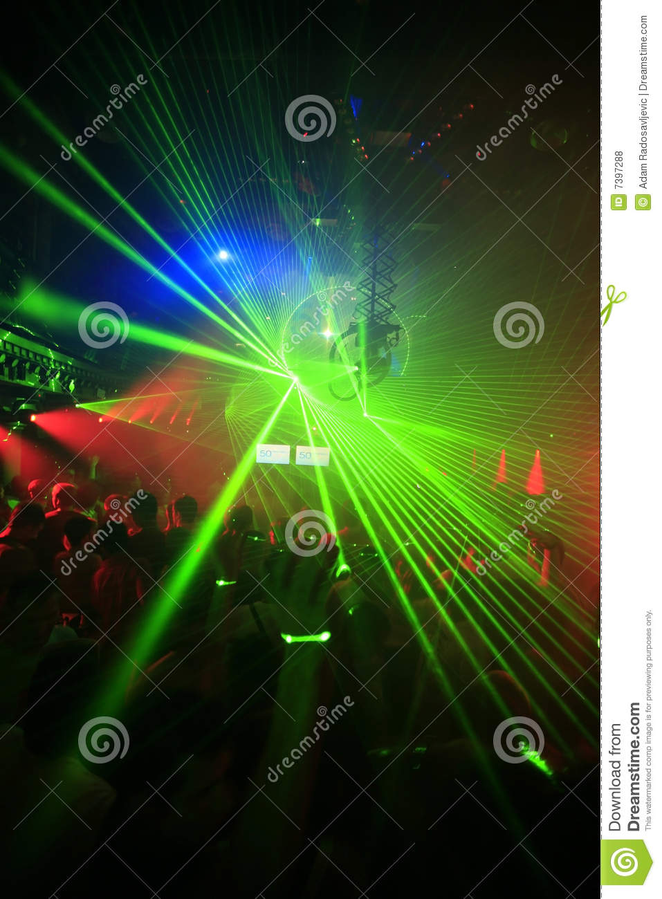 Night Club Party Background Stock Photo - Image of indoors