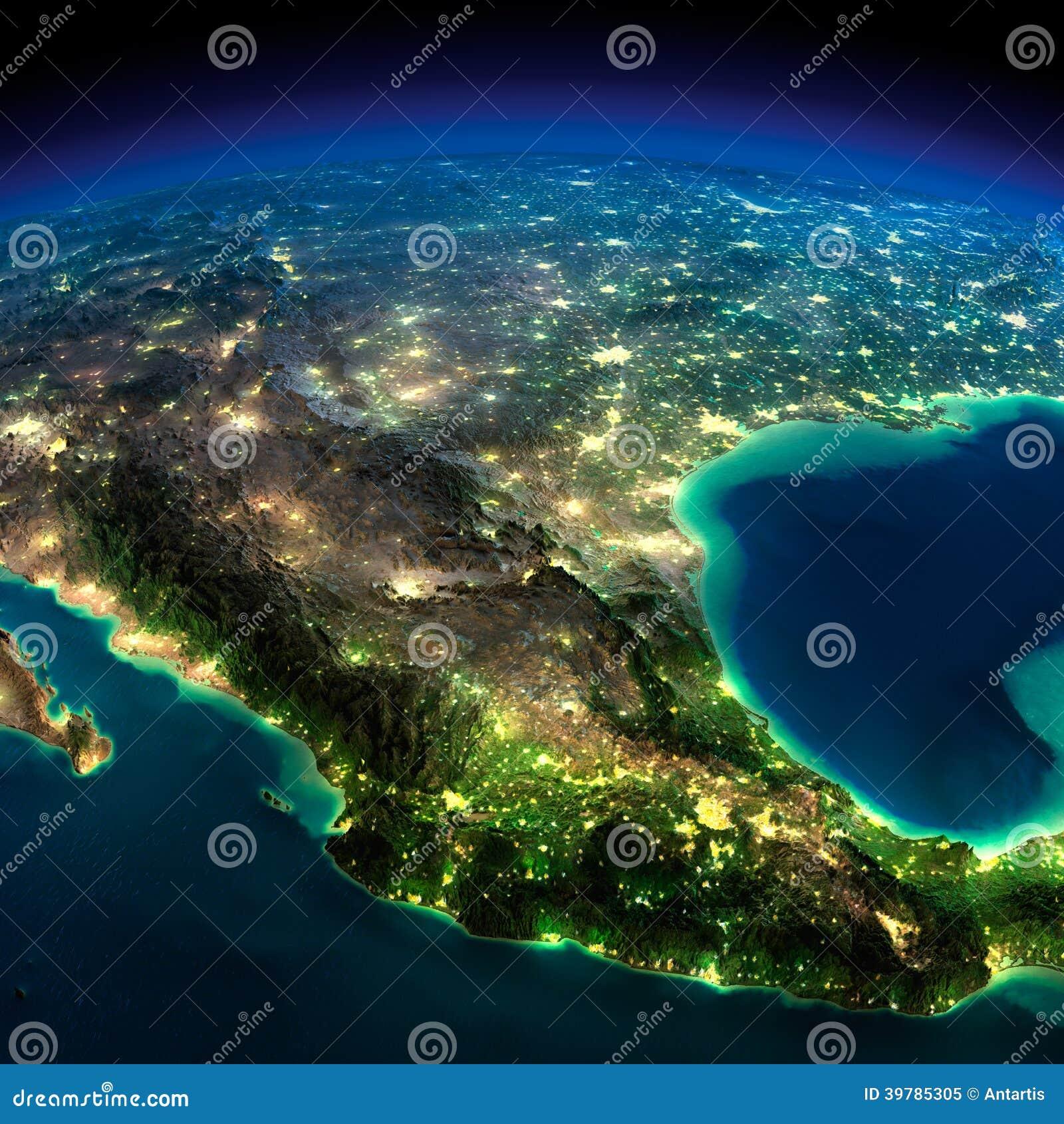 night light footprint north america nasa - photo #33