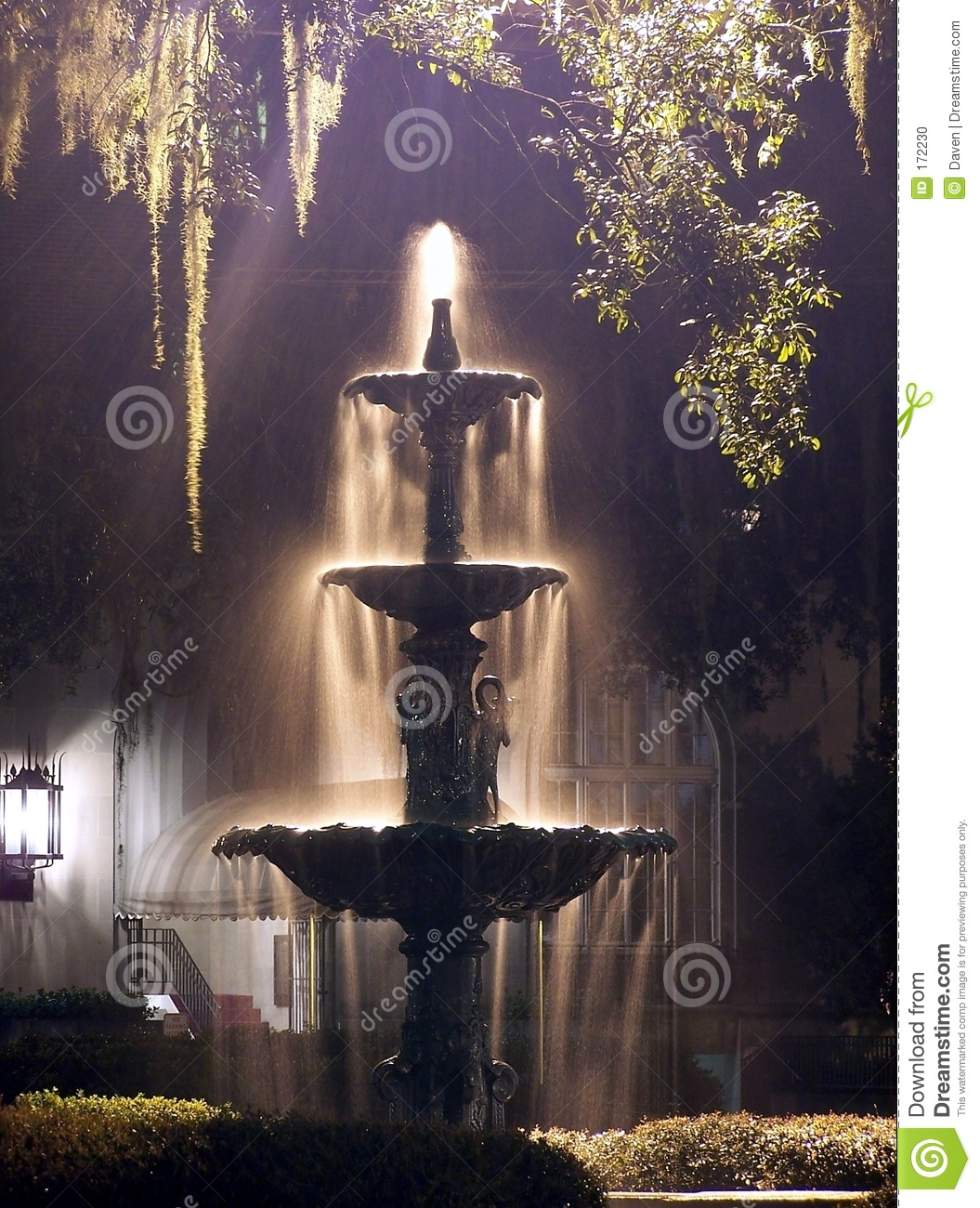 Night Fountain