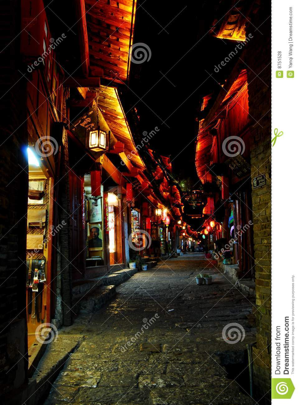 Night Lijiang, shopping