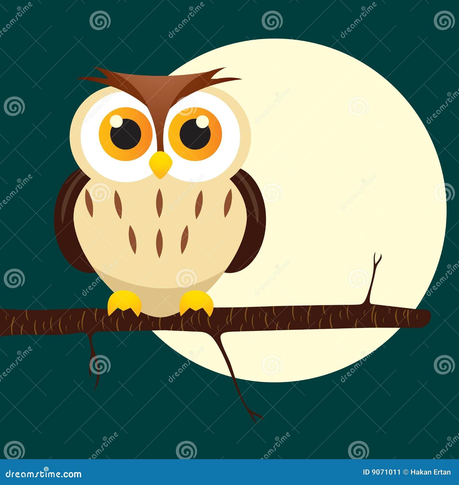Night owl on tree