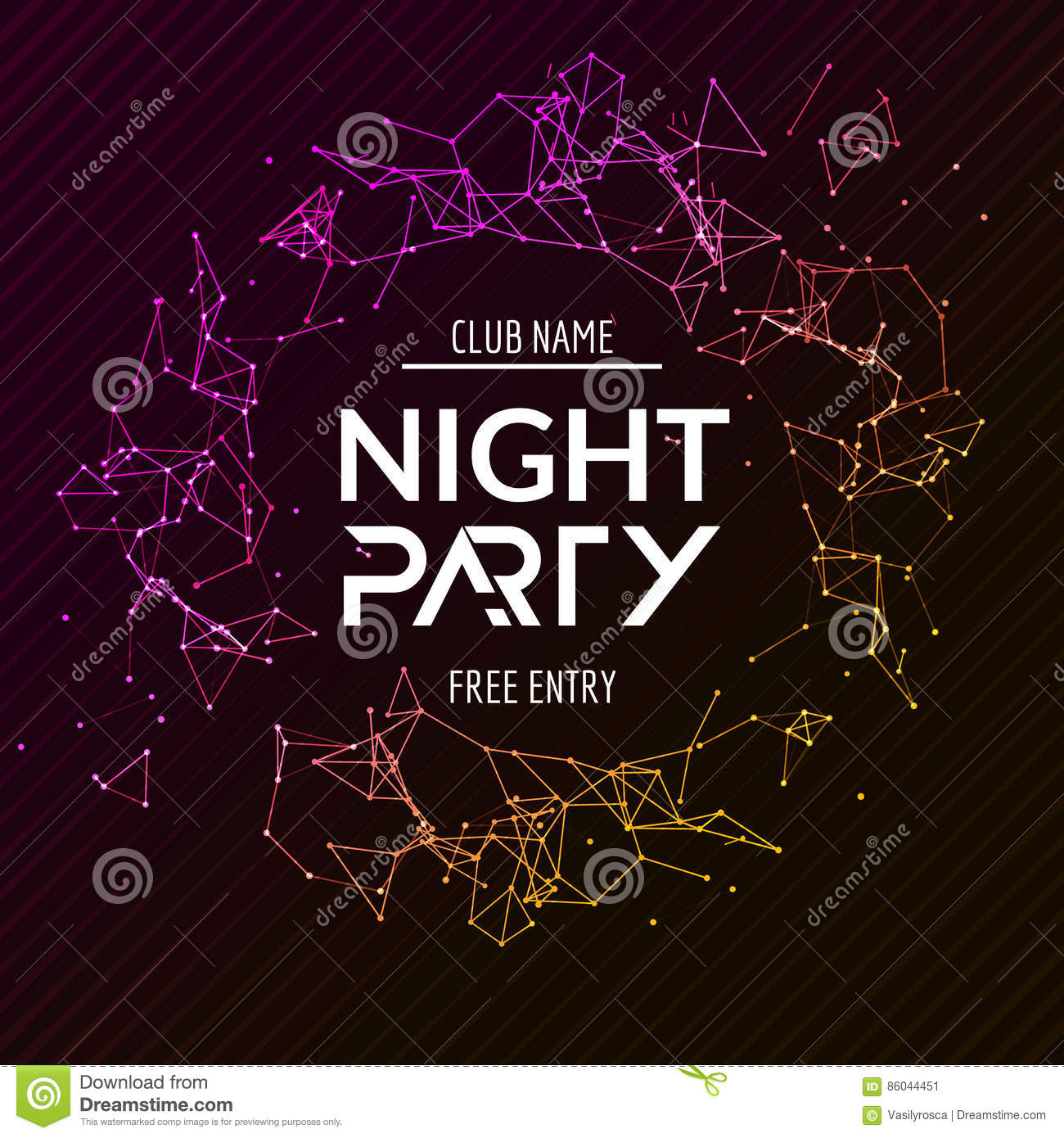 7 Best Philadelphia Flyers Themed Party Images On: Night Party Poster. Shiny Banner Club Disco. Dj Dance