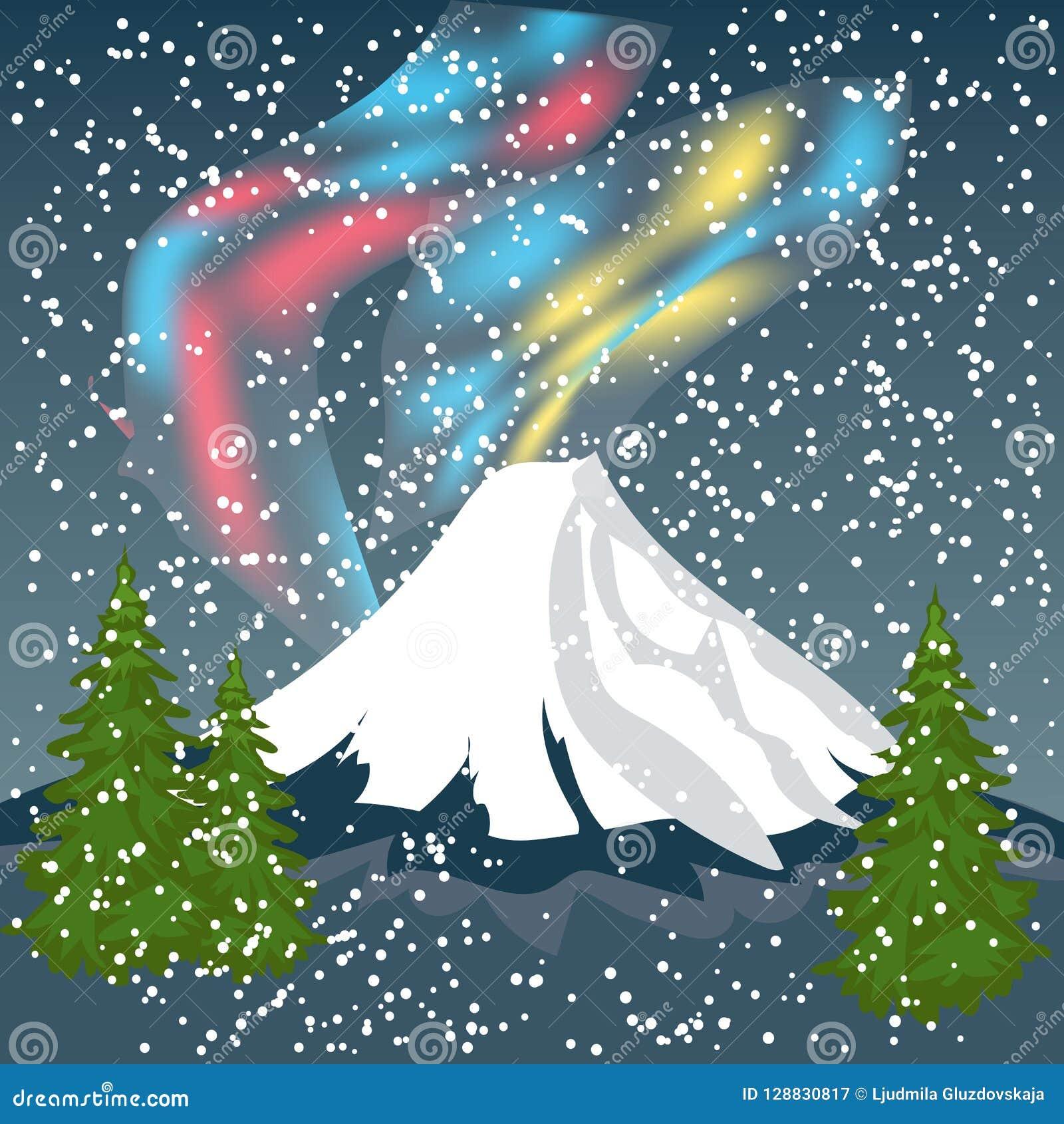 mk79-aurora-star-sky-snow-night-mountain-winter-nature ...  Night Sky Aurora Colorado
