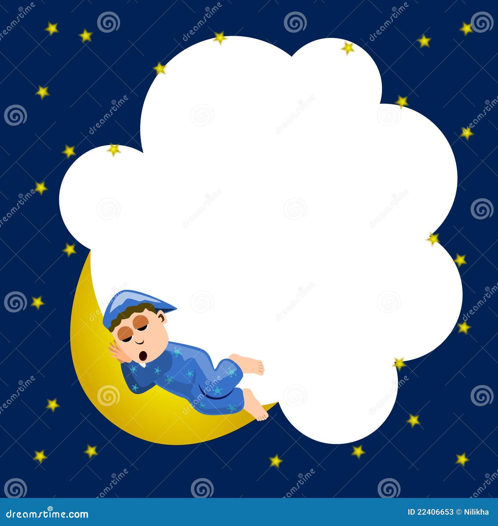 Night Time Frame Stock Illustration Image Of Illustration