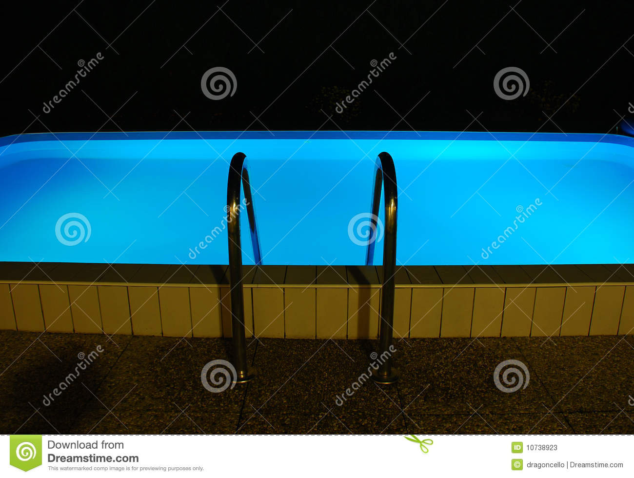 Night time swimming pool stock photos image 10738923 for Pool time pools