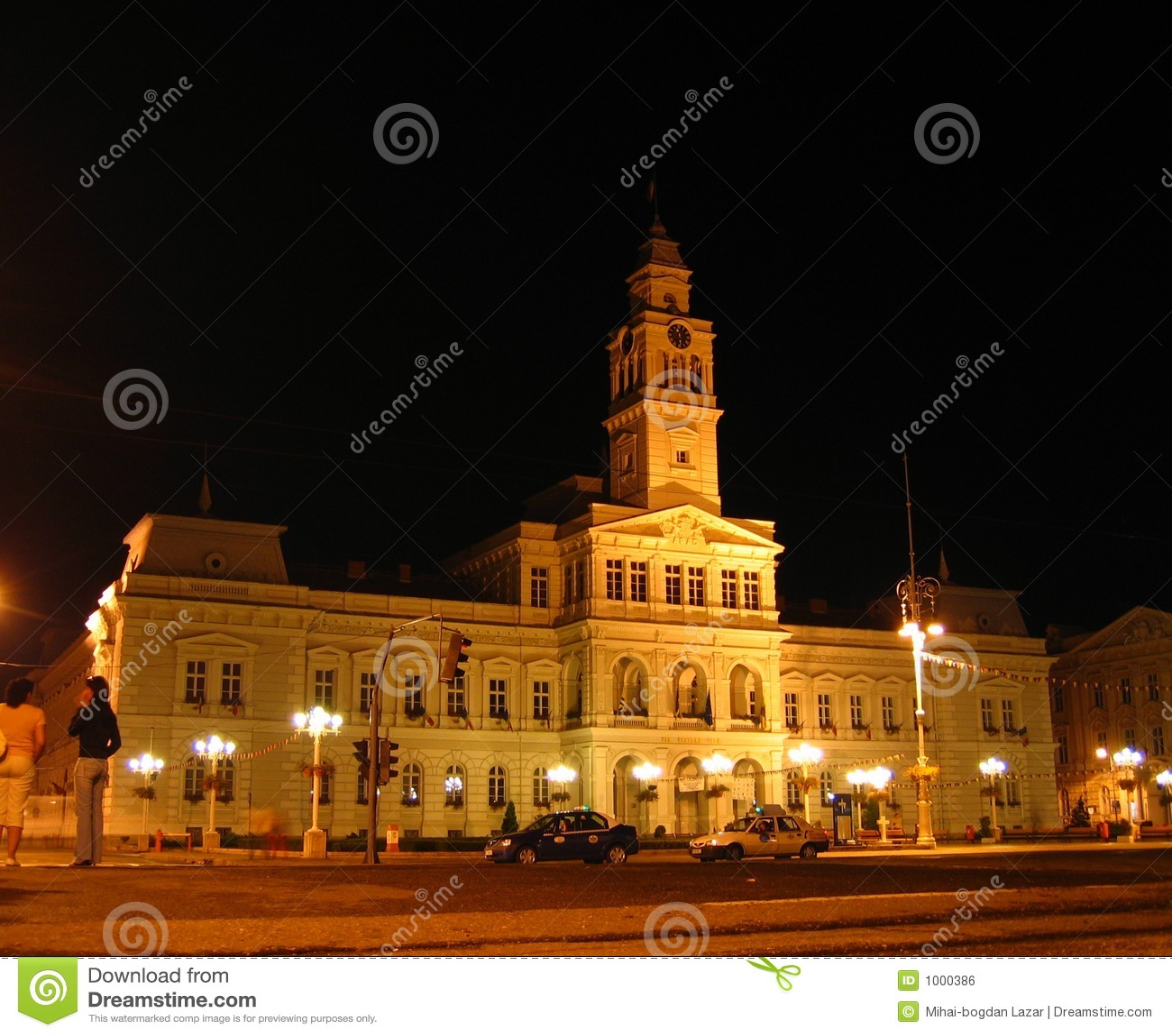 Night Town Hall - Arad, Romania