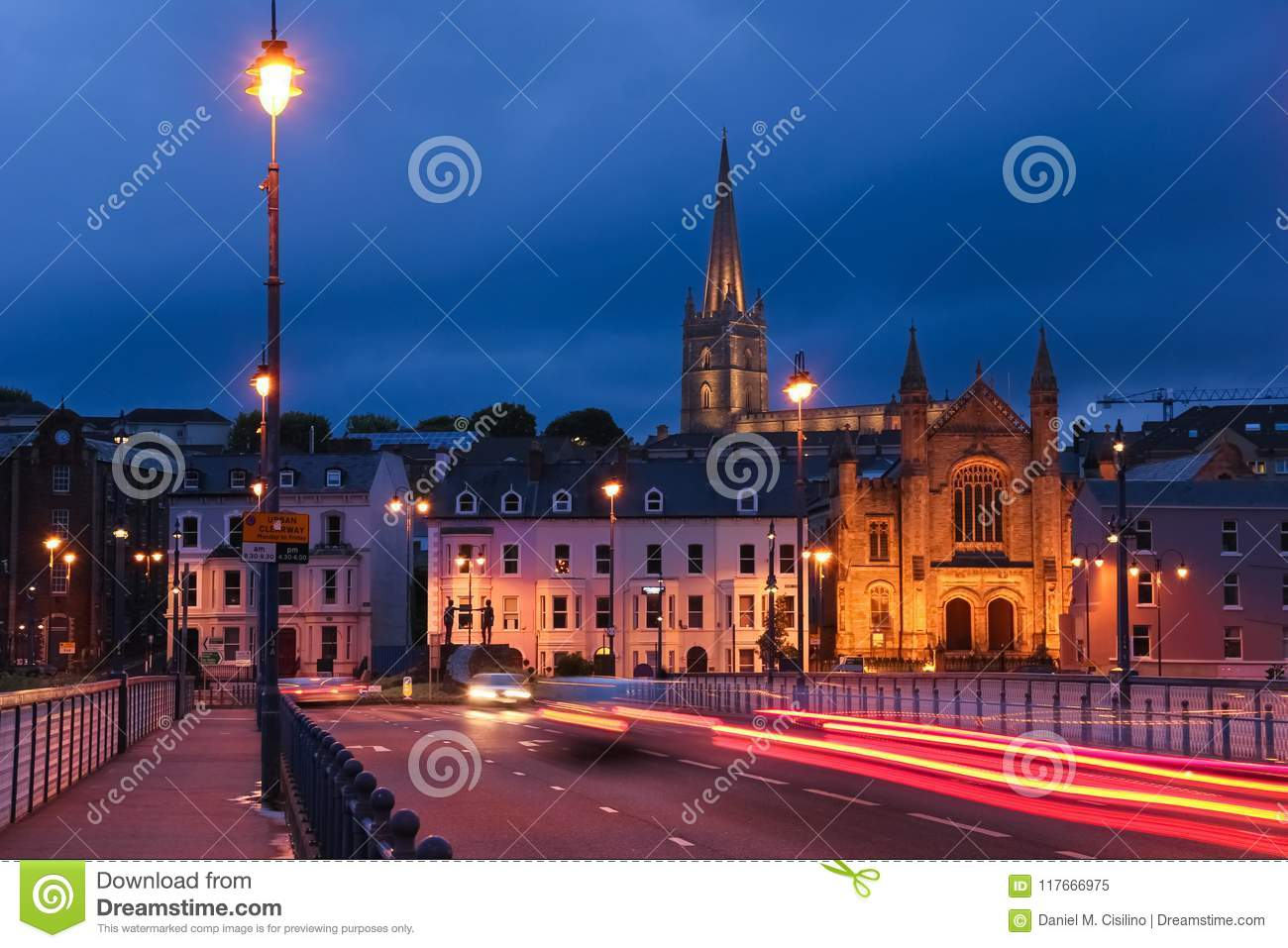 The Guildhall. Derry Londonderry. Northern Ireland. United