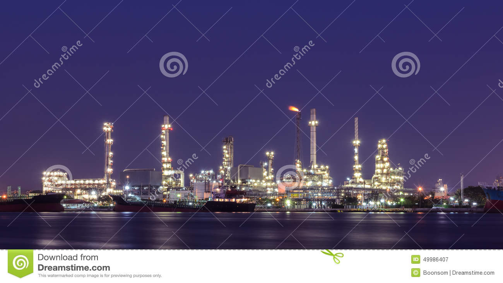 night-view-oil-refinery-plant-illuminate