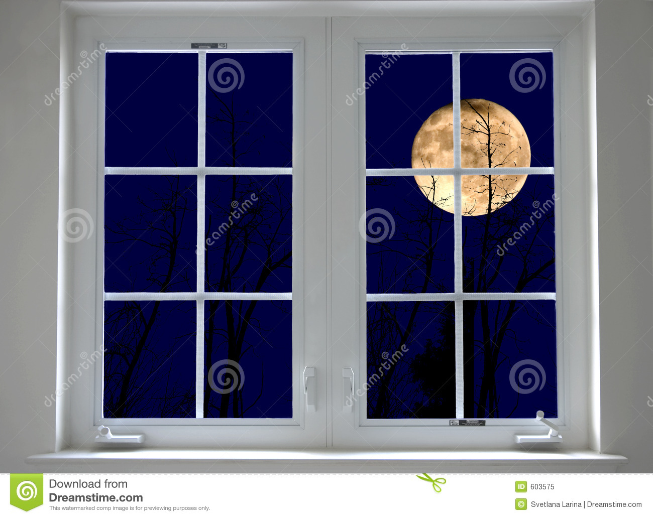 Window at night from inside - More Similar Stock Images Of Night Window