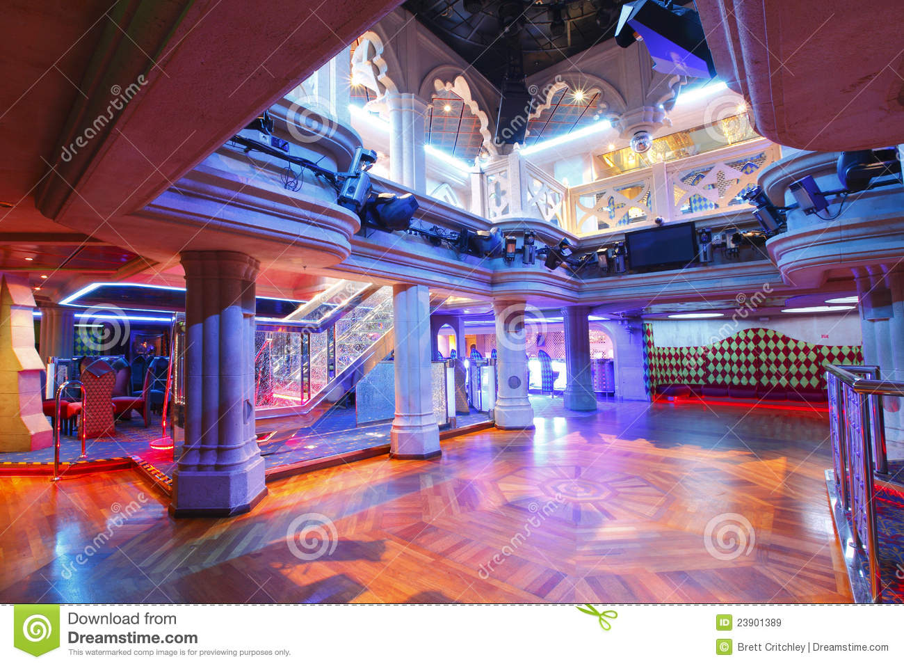 Nightclub Dance Floor Royalty Free Stock Images Image 23901389