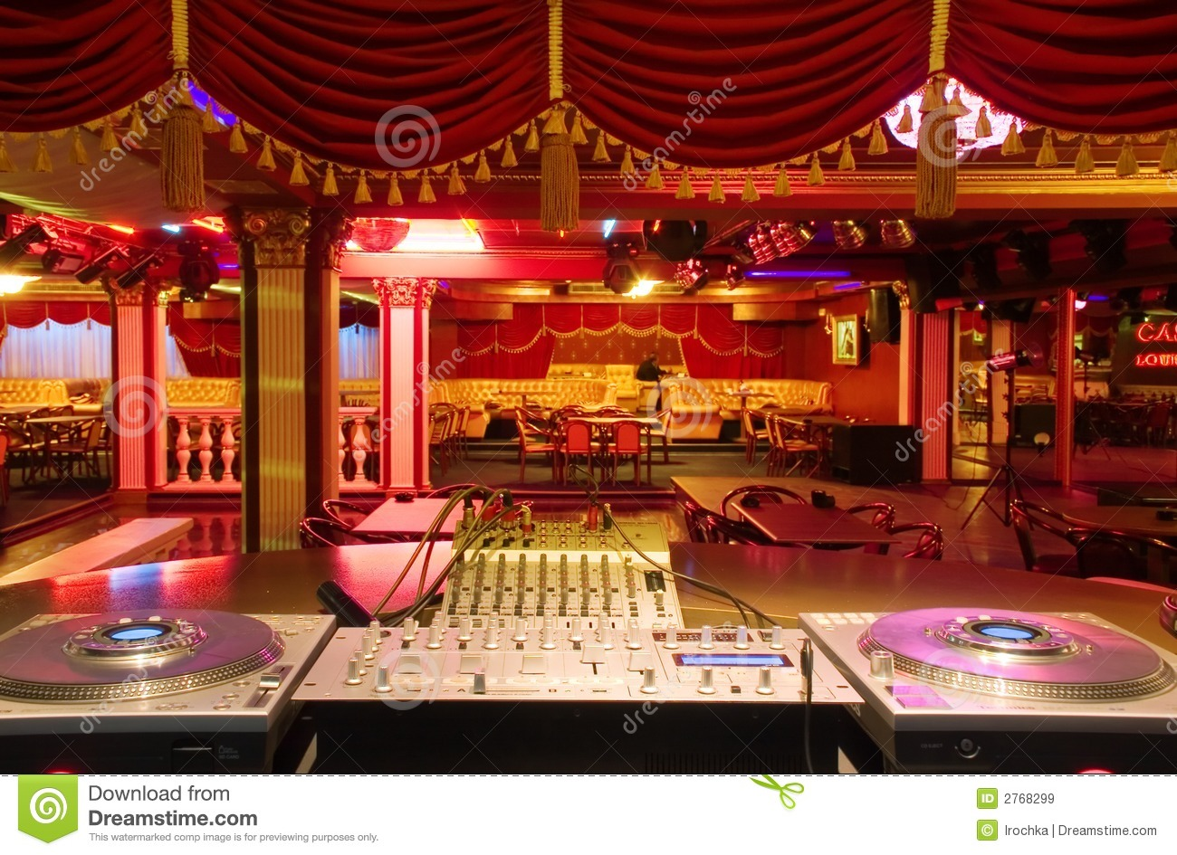 Nightclub Dance Floor Stock Image Image Of Electronic