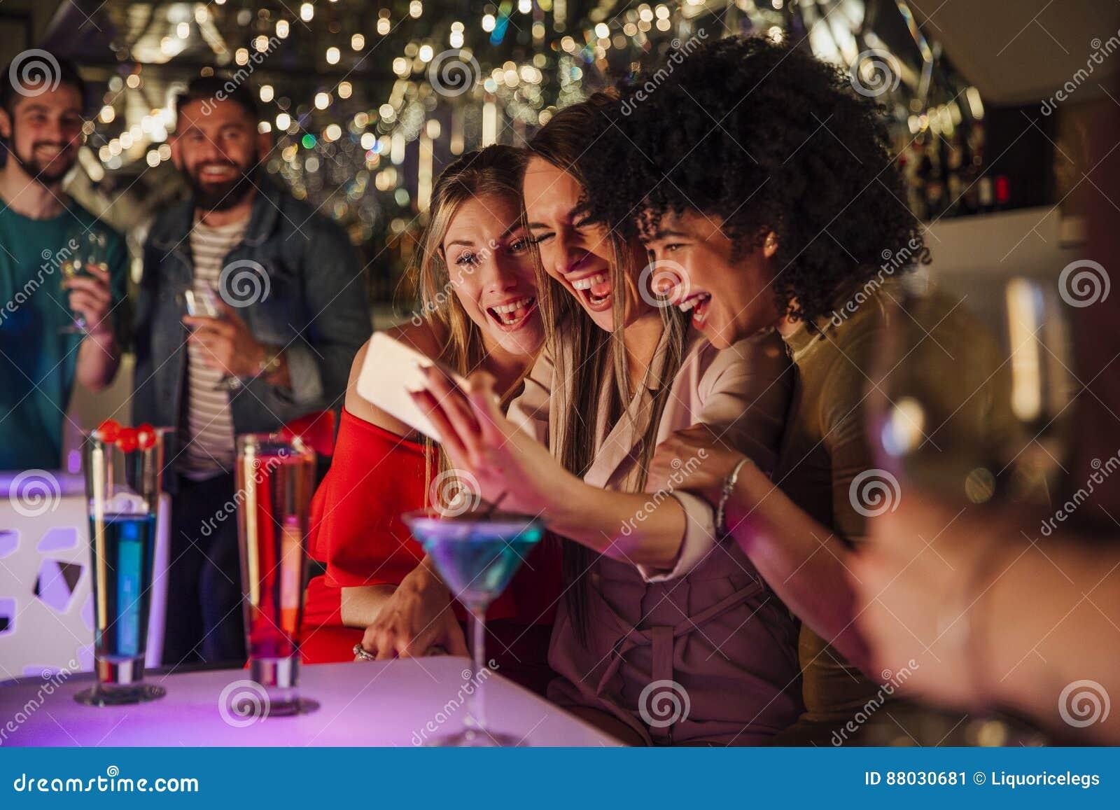 Nightclub Selfies