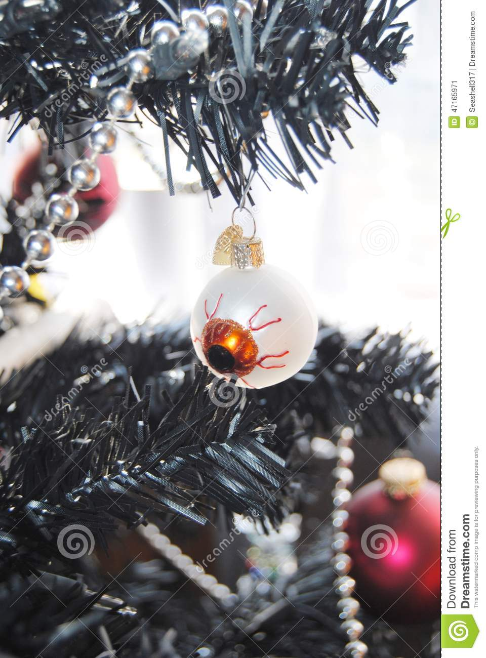 Nightmare before christmas stock image. Image of balls - 47165971