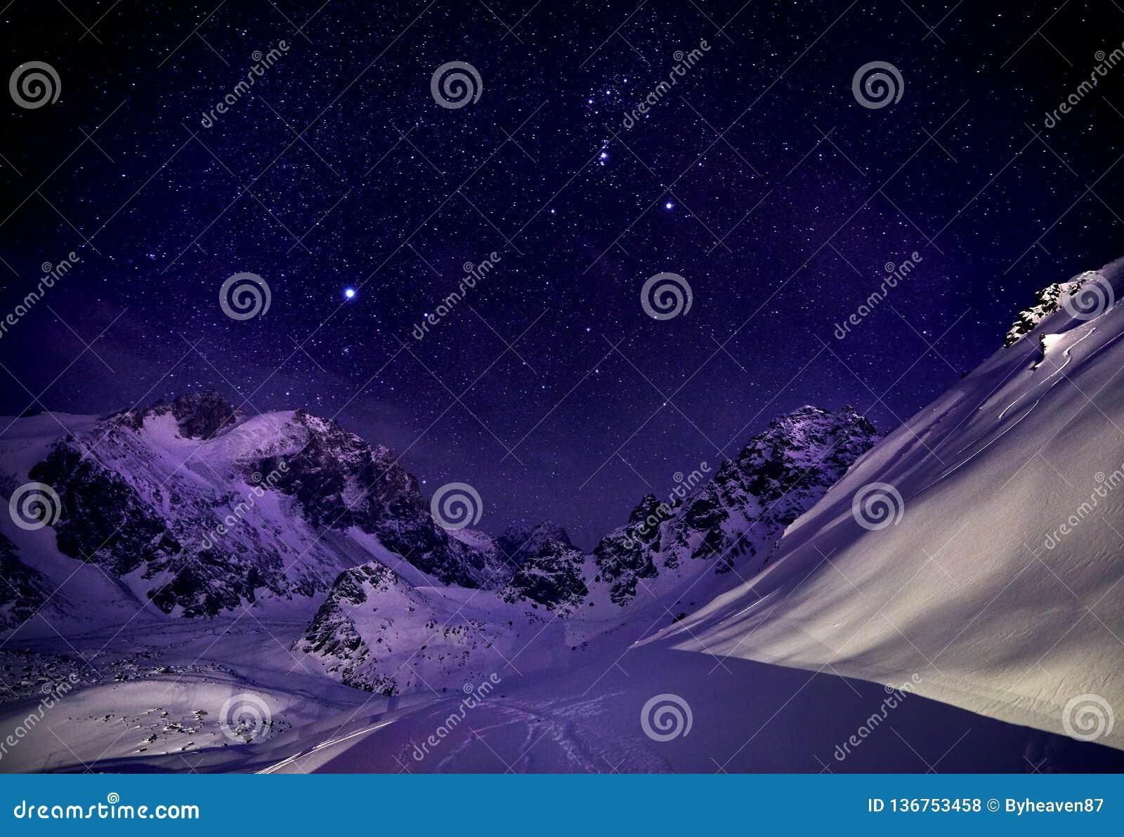 Nightscape в горах