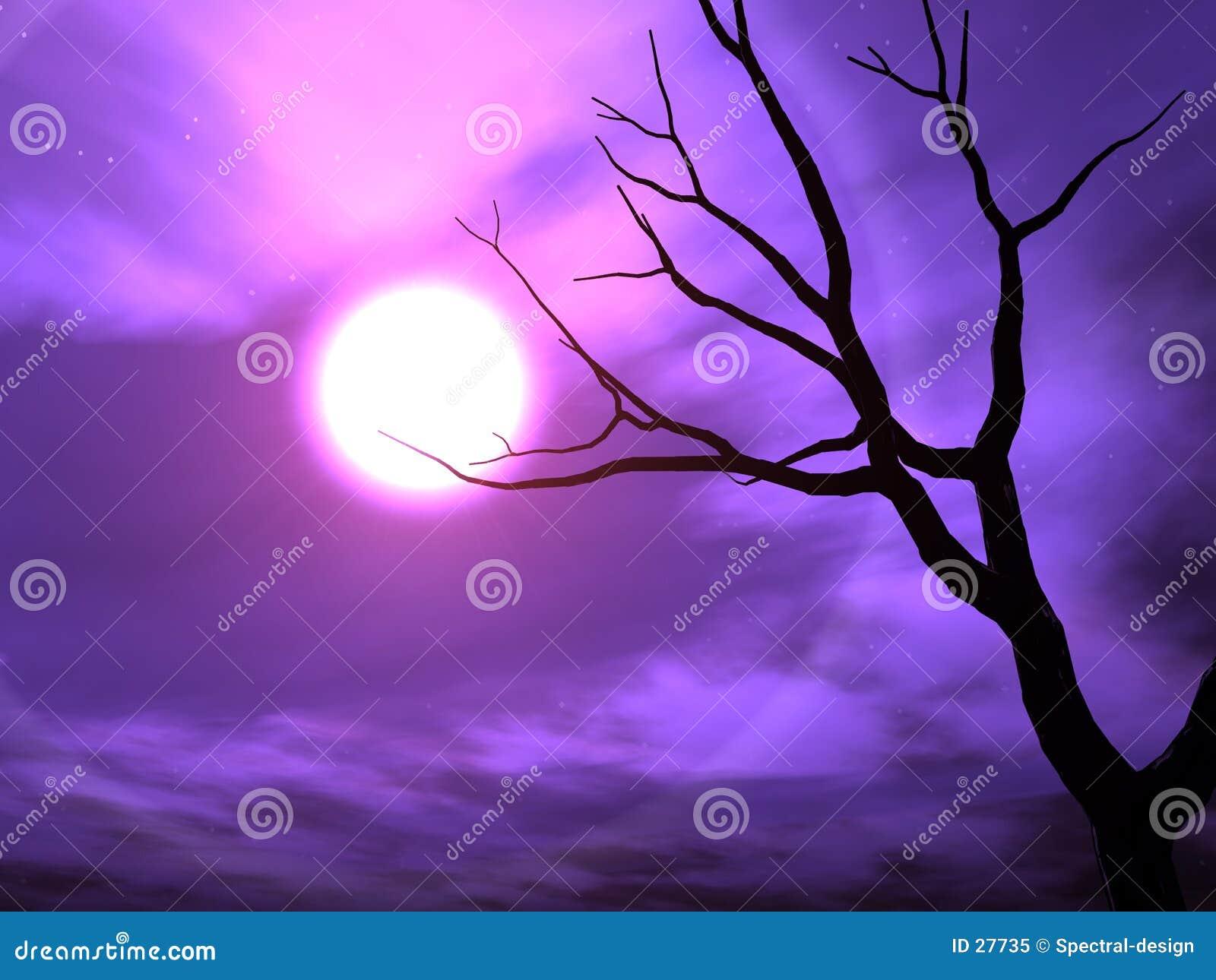 Download Nightshade stock abbildung. Illustration von himmel, alptraum - 27735