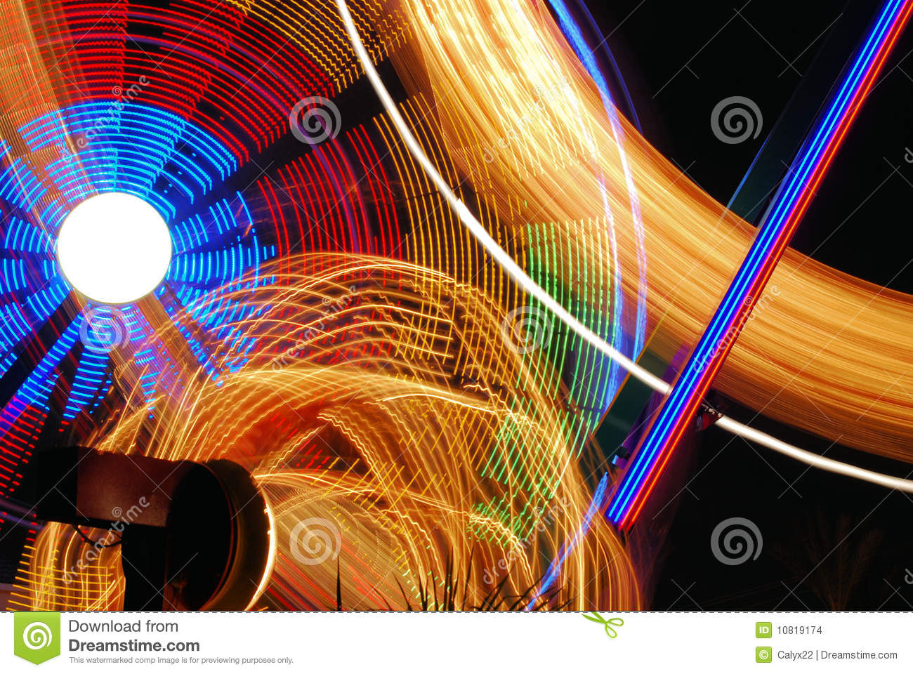 nighttime carnival lights stock photos royalty free pictures