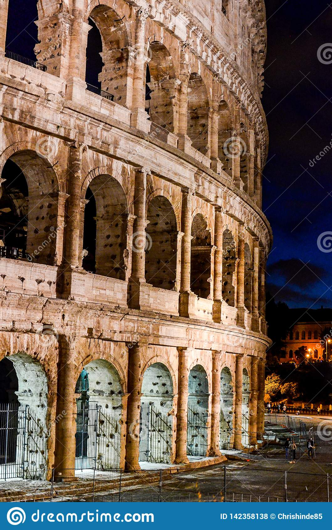 Nighttime Colosseum 4