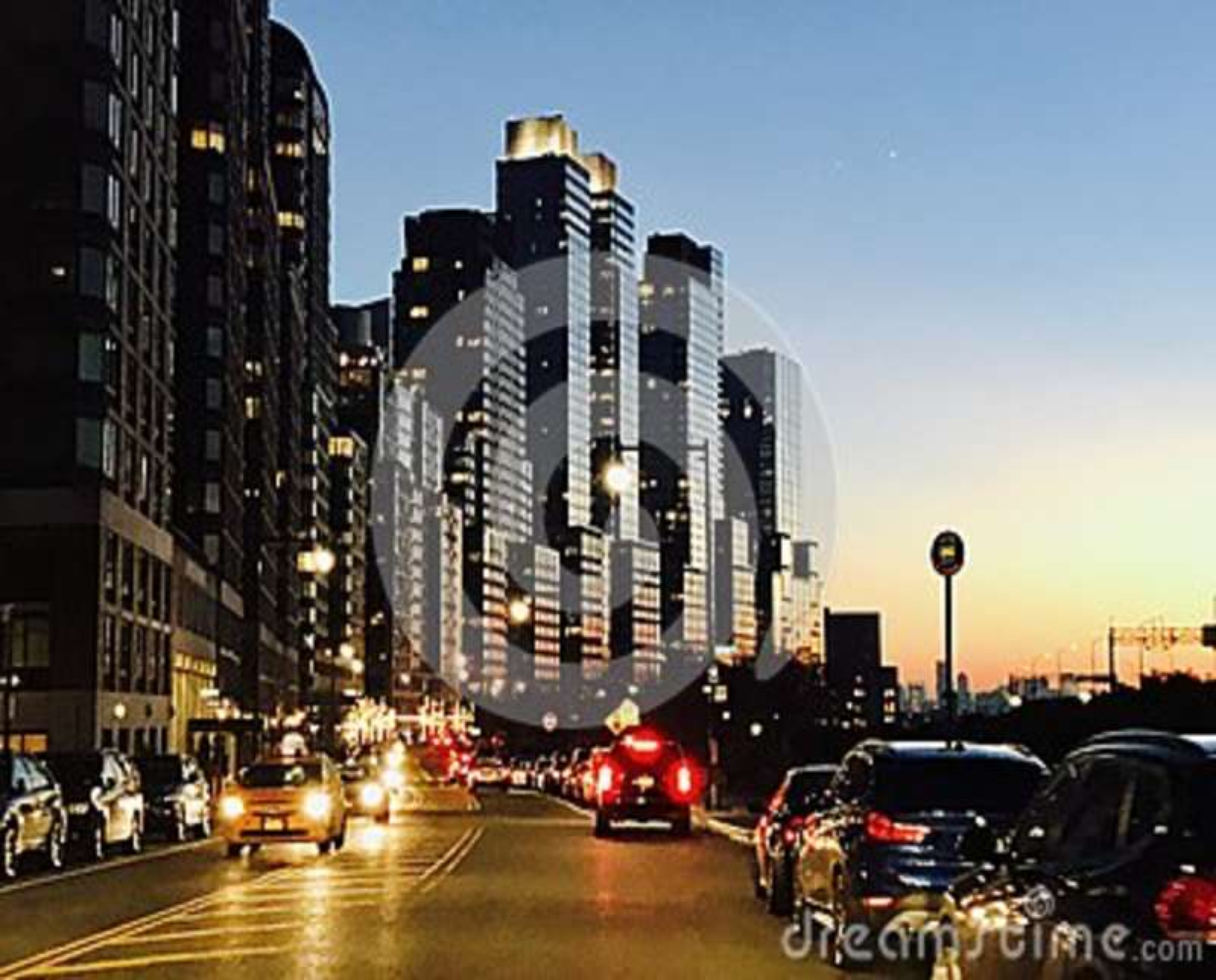 Nightview de Manhattan