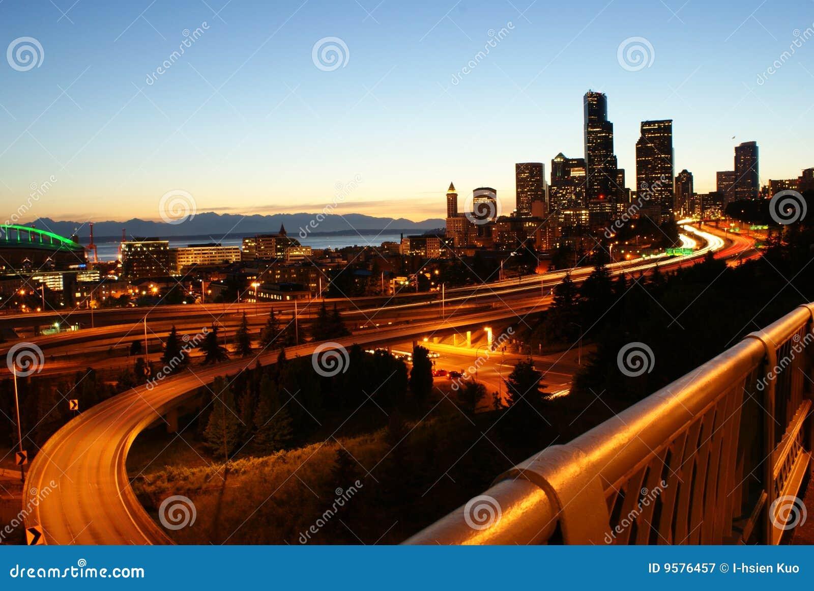 Nightview de Seattle